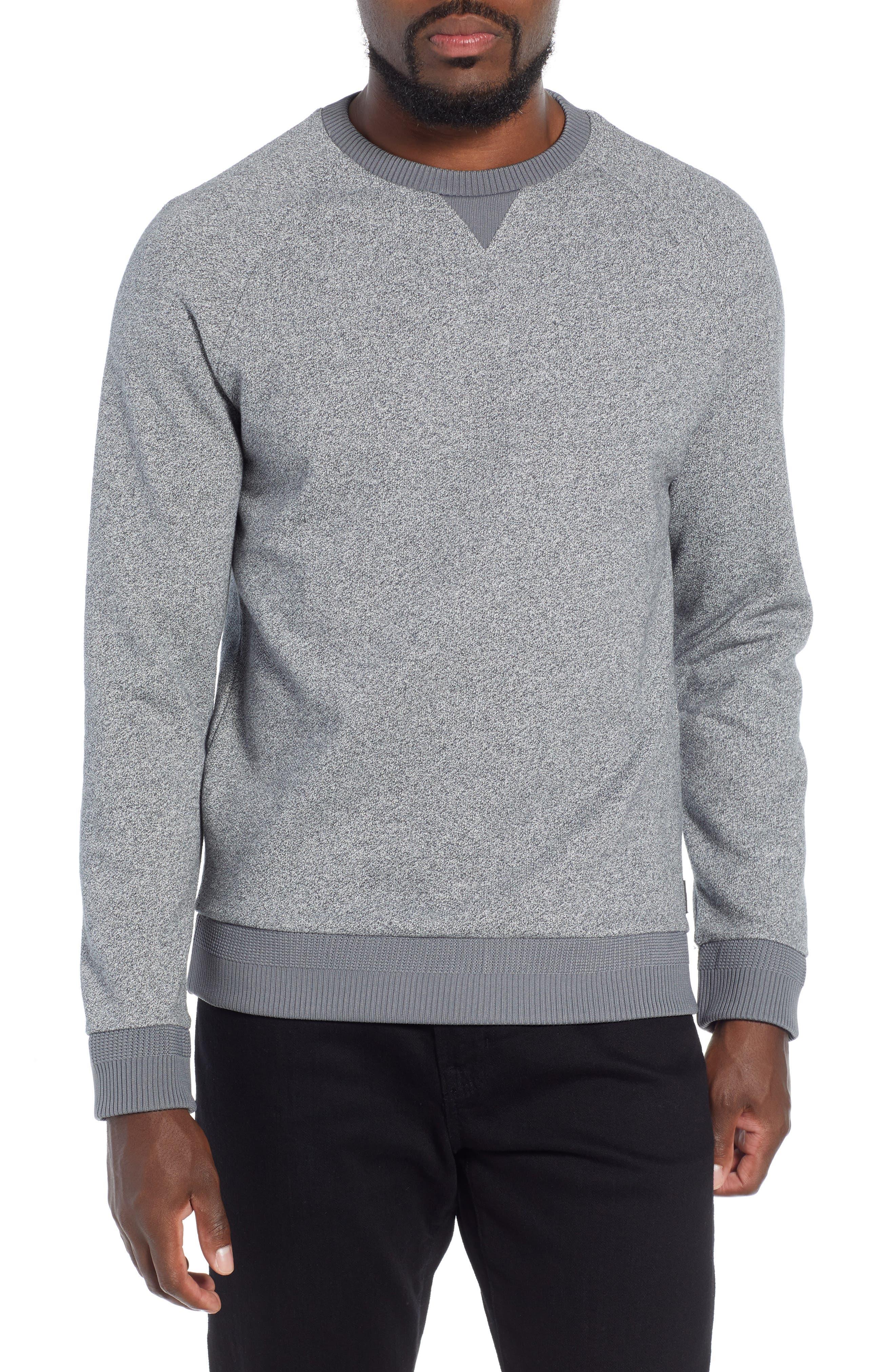 Stadler Denimic Regular Fit Sweatshirt,                             Main thumbnail 1, color,                             GREY
