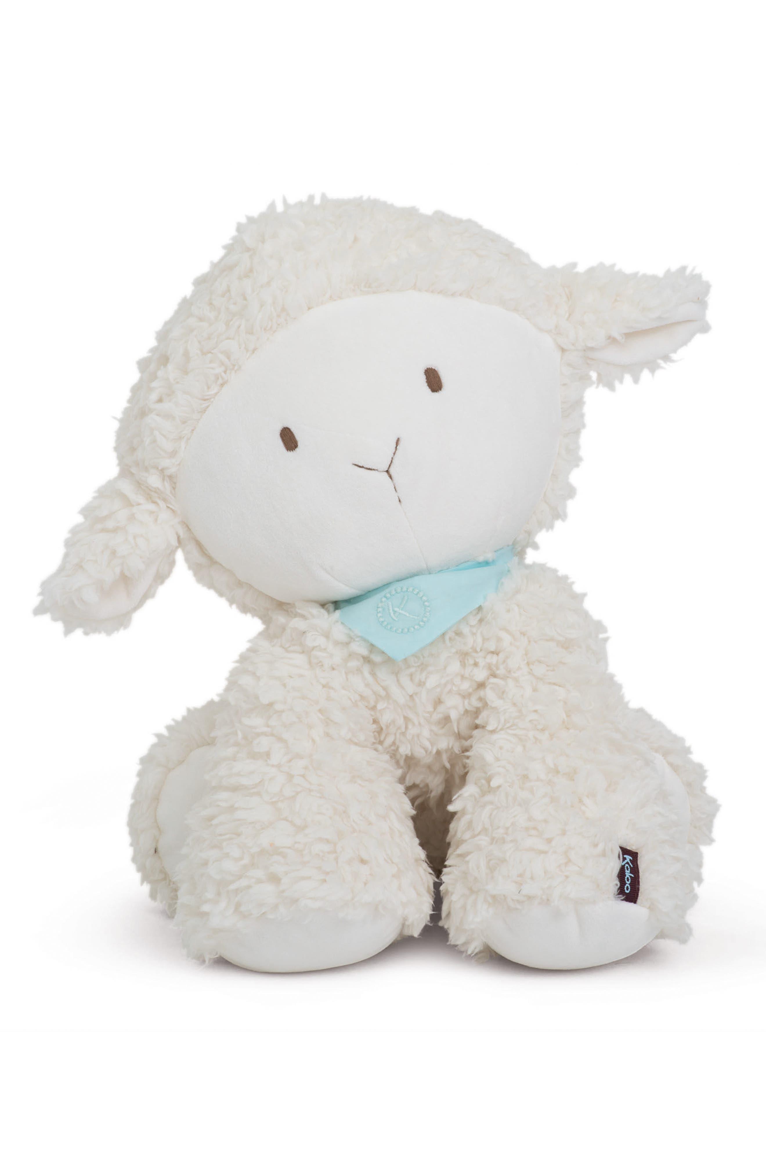Vanilla the Lamb Stuffed Animal,                             Main thumbnail 1, color,                             WHITE