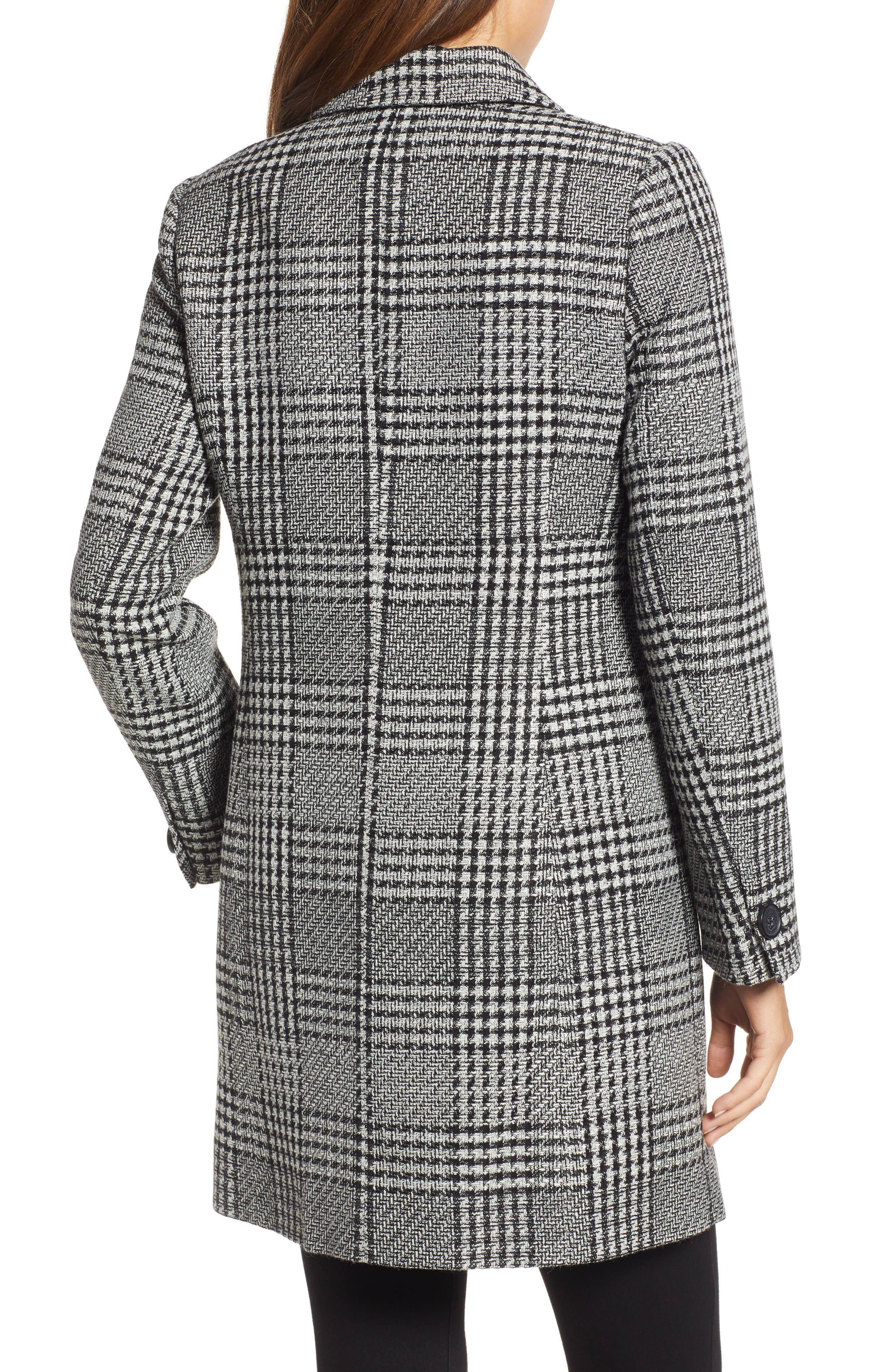 Tweed Topper Coat,                             Alternate thumbnail 2, color,                             006