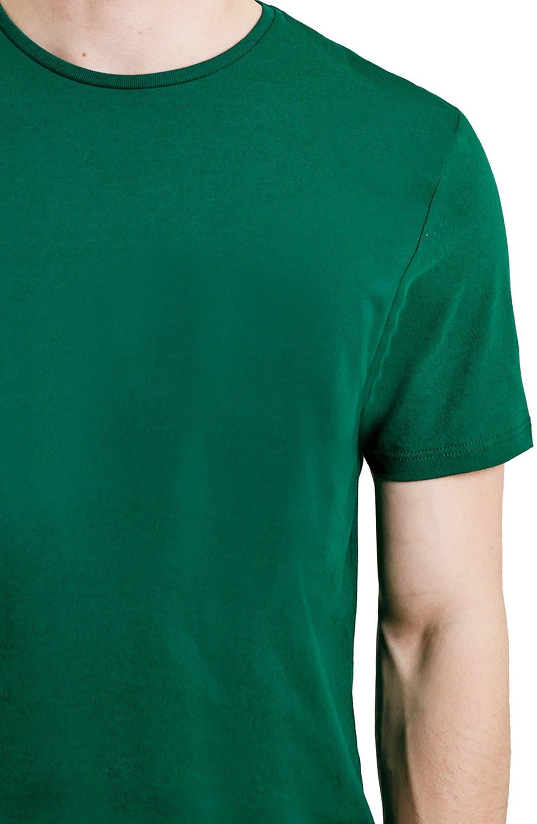 Slim Fit Crewneck T-Shirt,                             Alternate thumbnail 241, color,