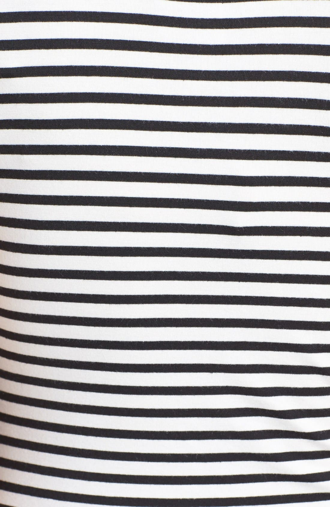 Sleeveless Maternity/Nursing Dress,                             Alternate thumbnail 4, color,                             001