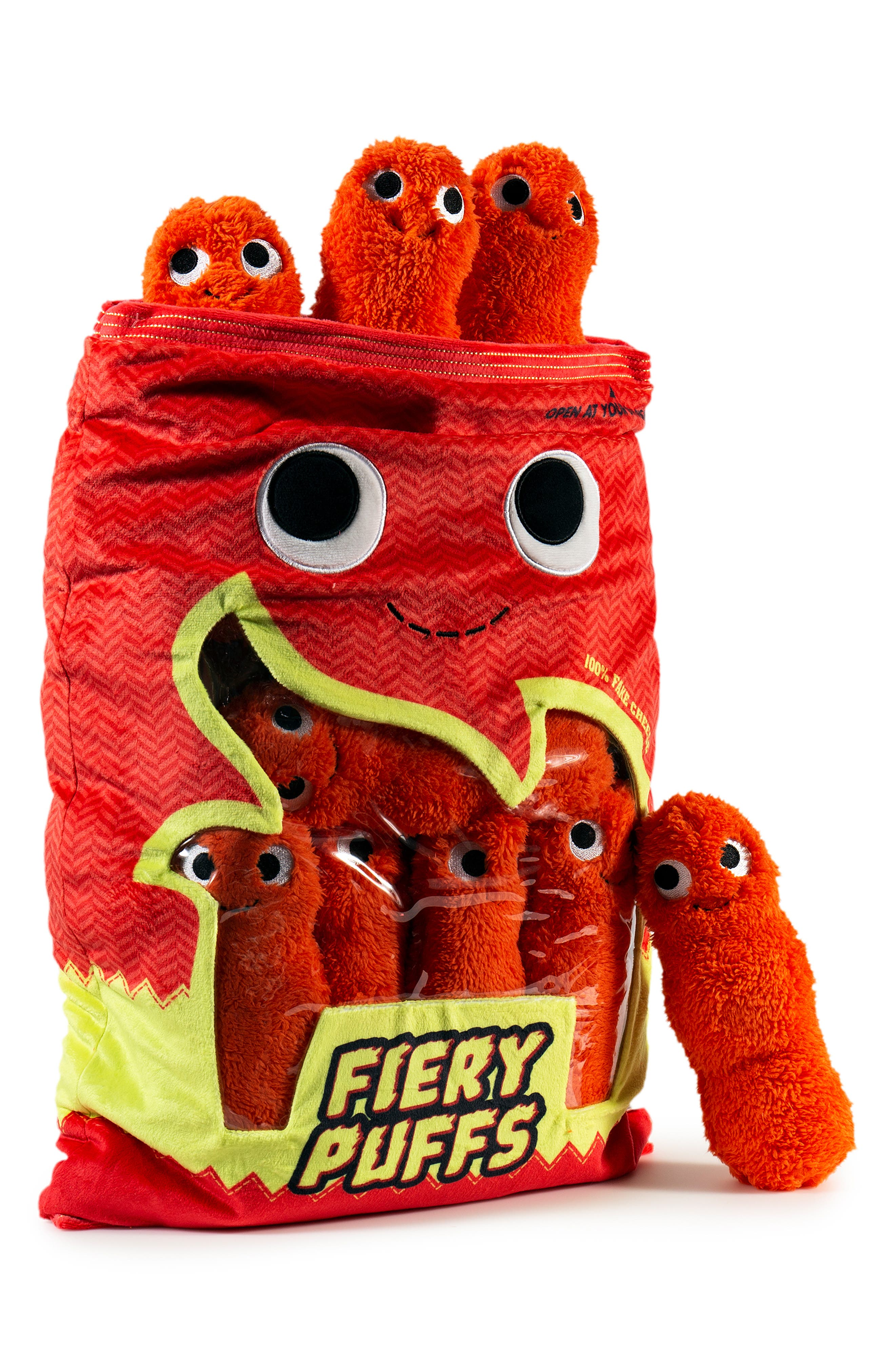 Yummy World Extra Large Frye & The Fiery Puffs Plush Toy,                             Alternate thumbnail 3, color,                             960