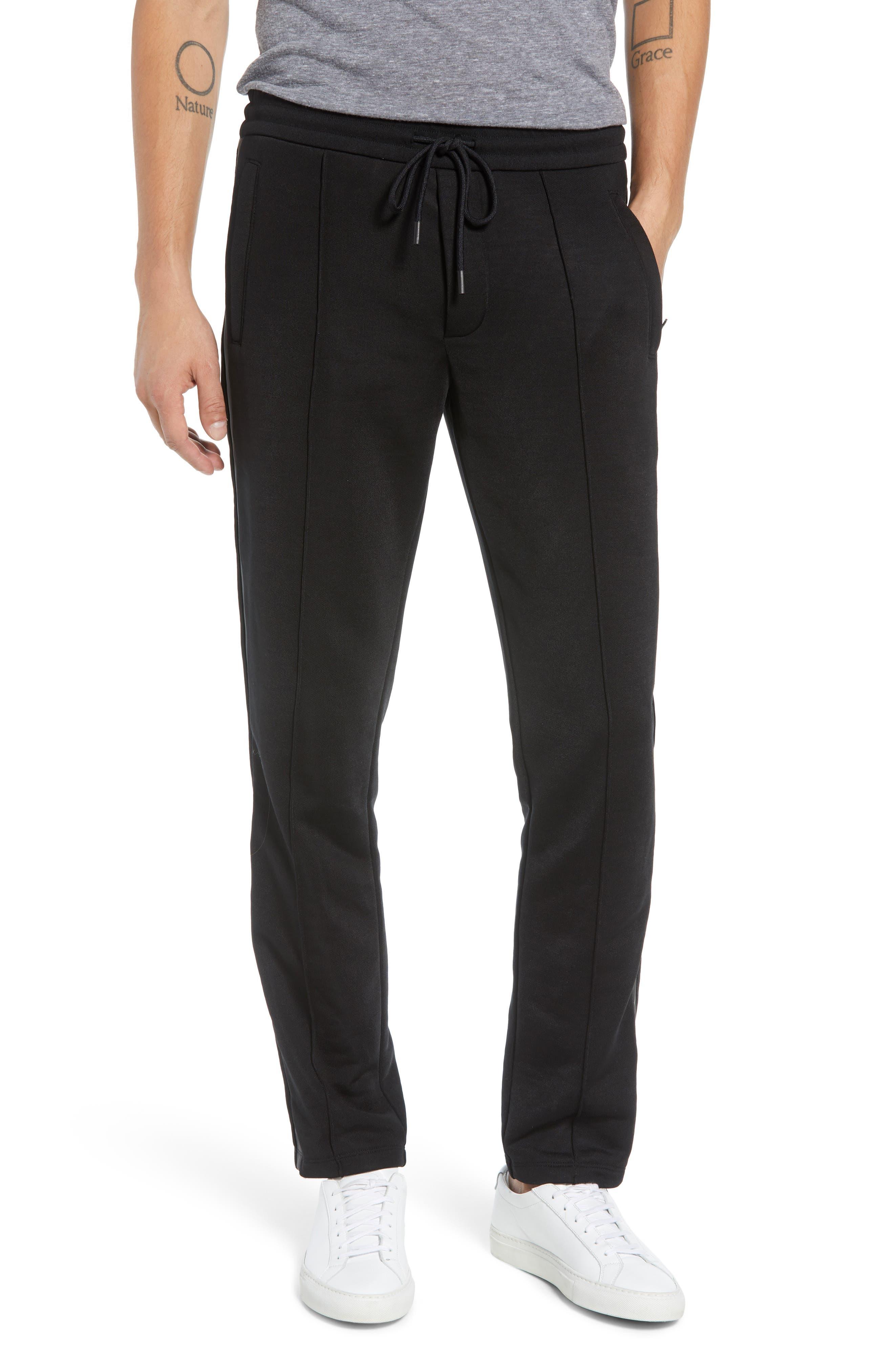 Heat Seal Classic Track Pants,                         Main,                         color, BLACK