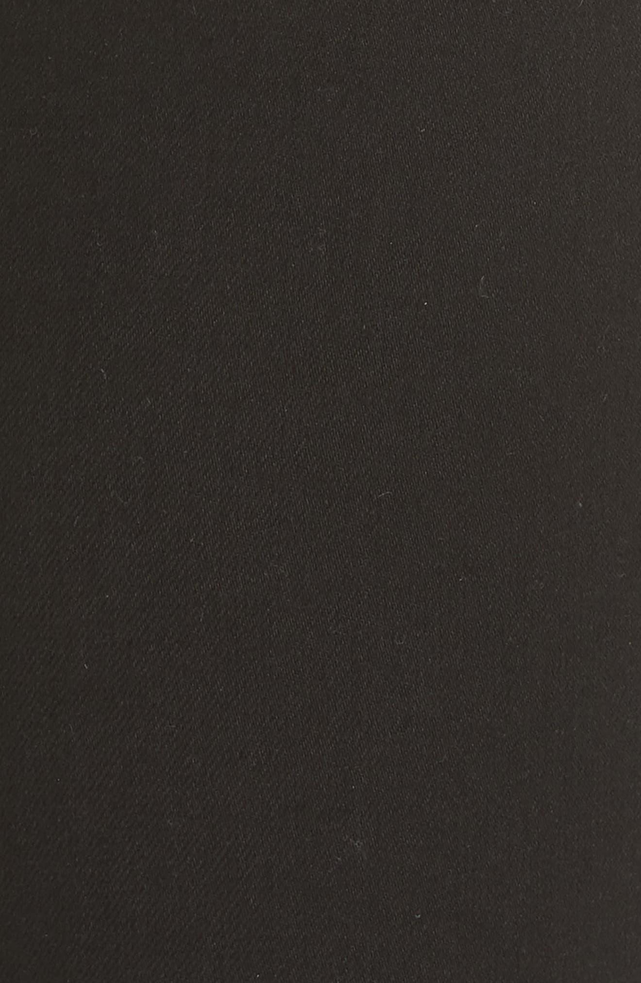 High Waist Leggings,                             Alternate thumbnail 6, color,                             BLACK