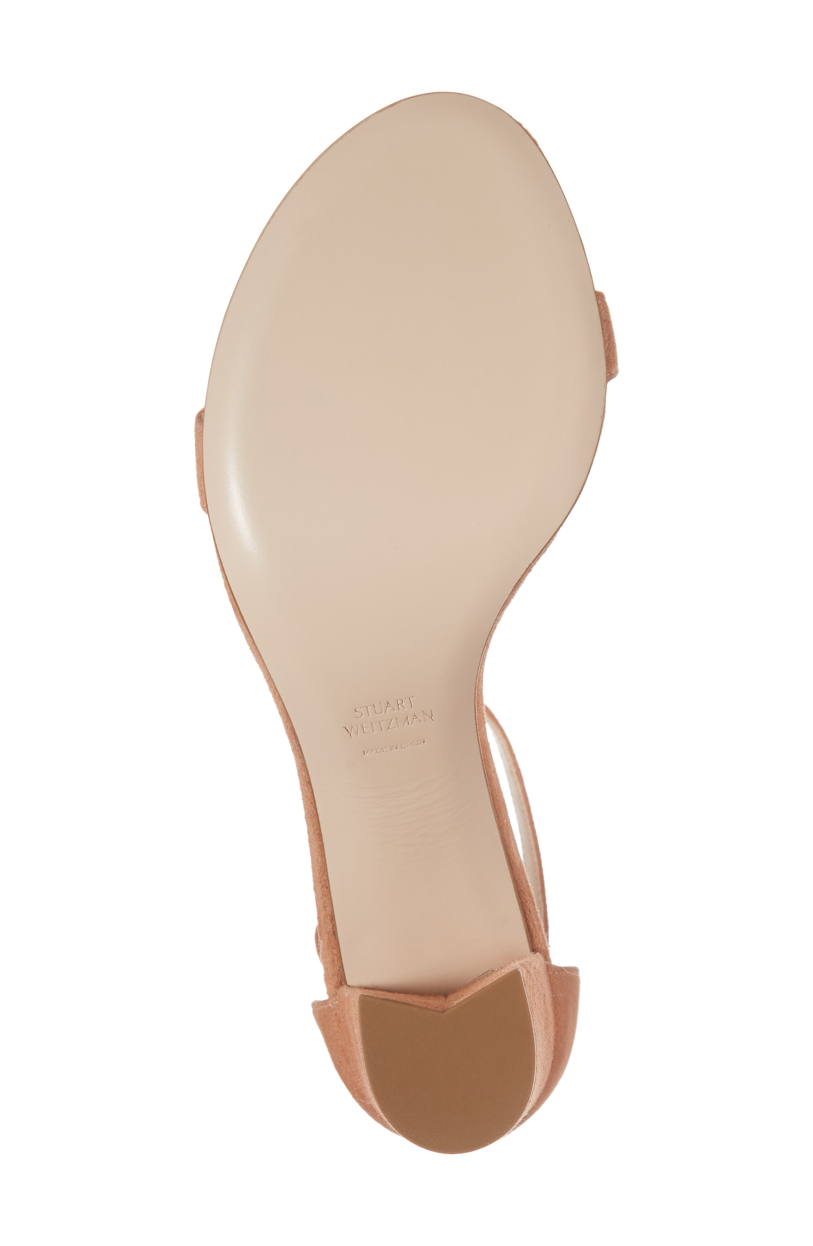 NearlyNude Ankle Strap Sandal,                             Alternate thumbnail 138, color,