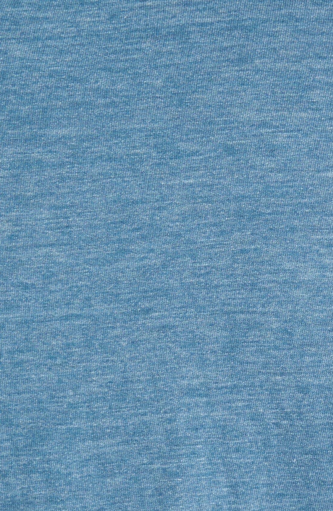 Scallop Triblend Crewneck T-Shirt,                             Alternate thumbnail 44, color,