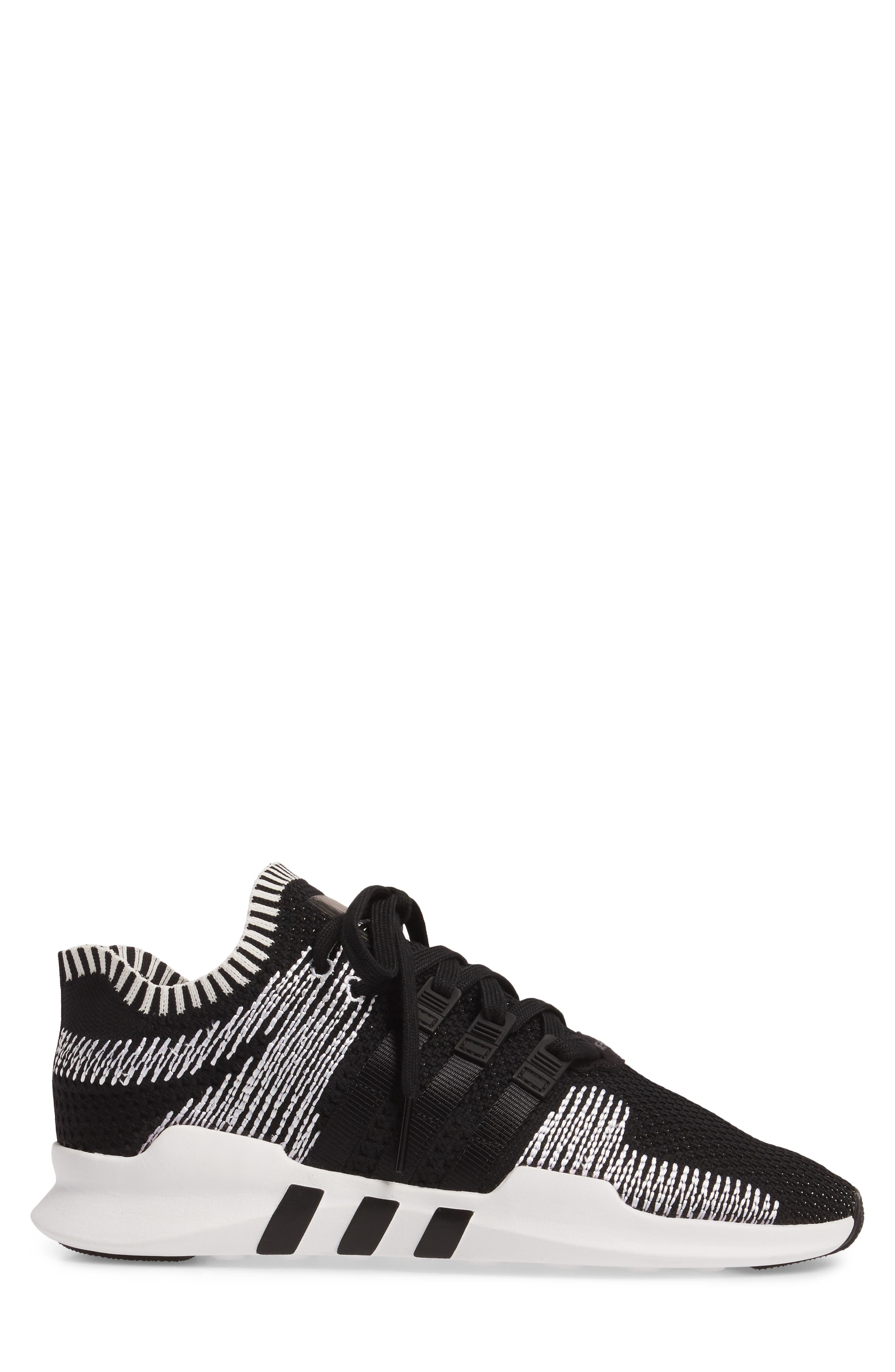 EQT Support ADV PrimeKnit Sneaker,                             Alternate thumbnail 3, color,                             001