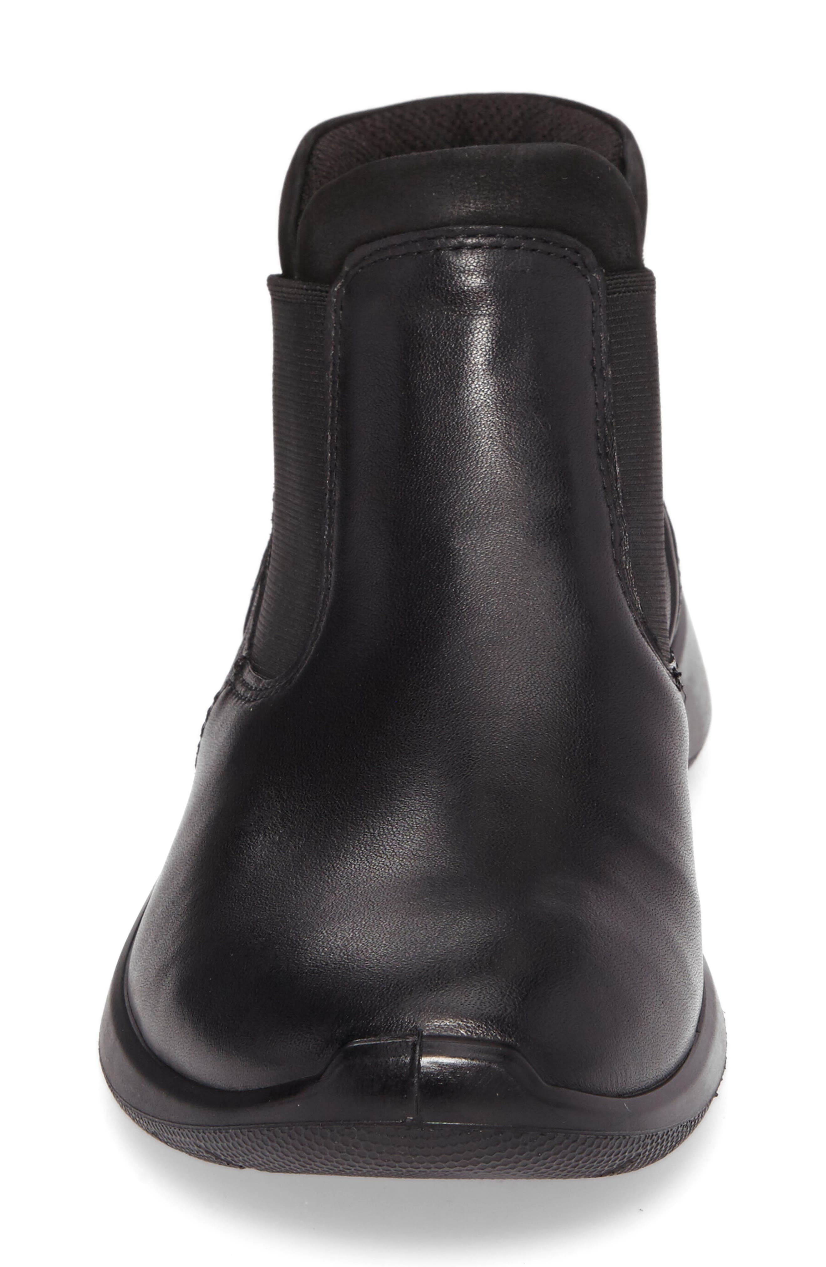 Soft 5 Chelsea Boot,                             Alternate thumbnail 4, color,                             001