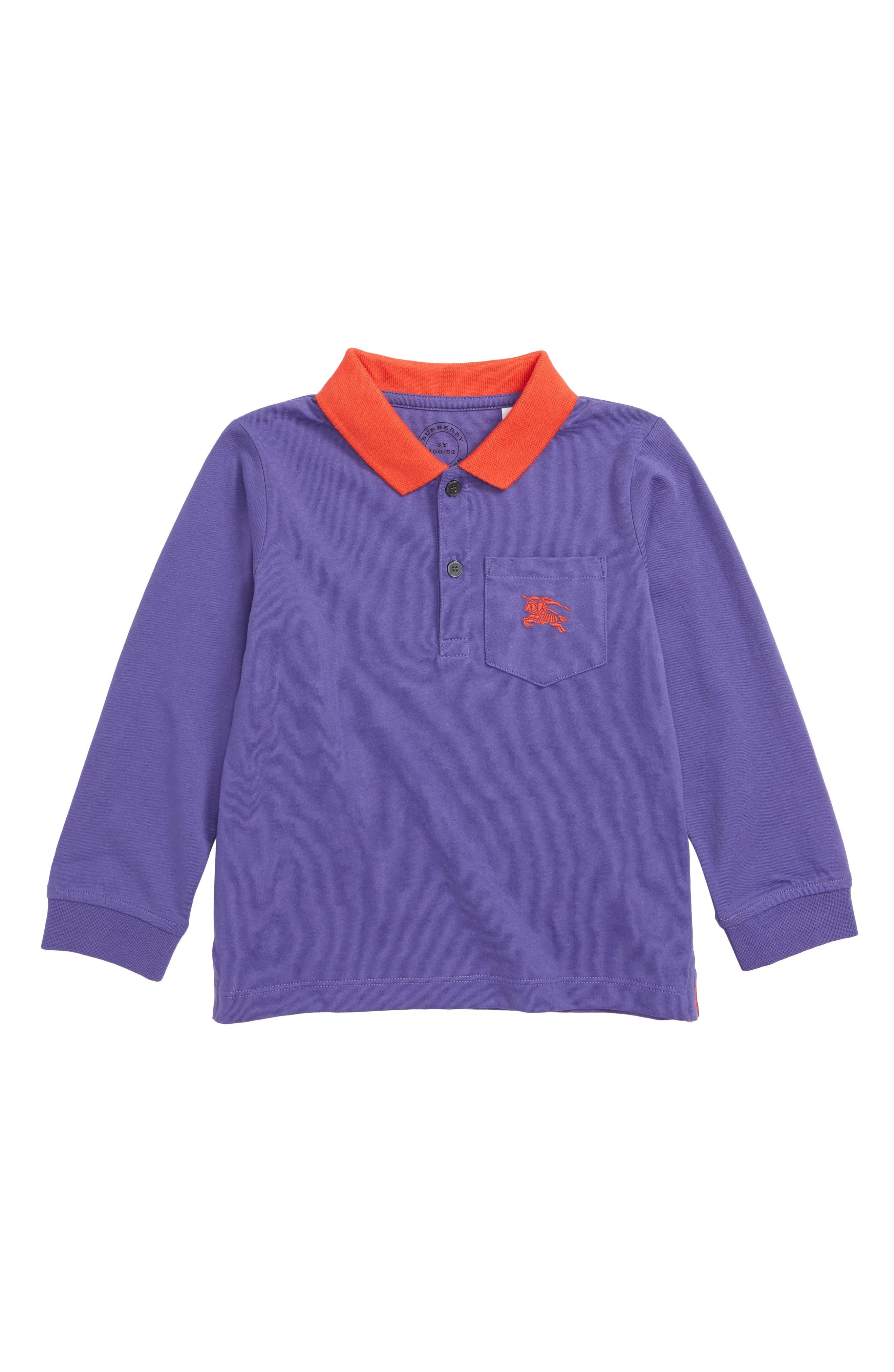 Polo,                         Main,                         color, BRIGHT SAPPHIRE BLUE