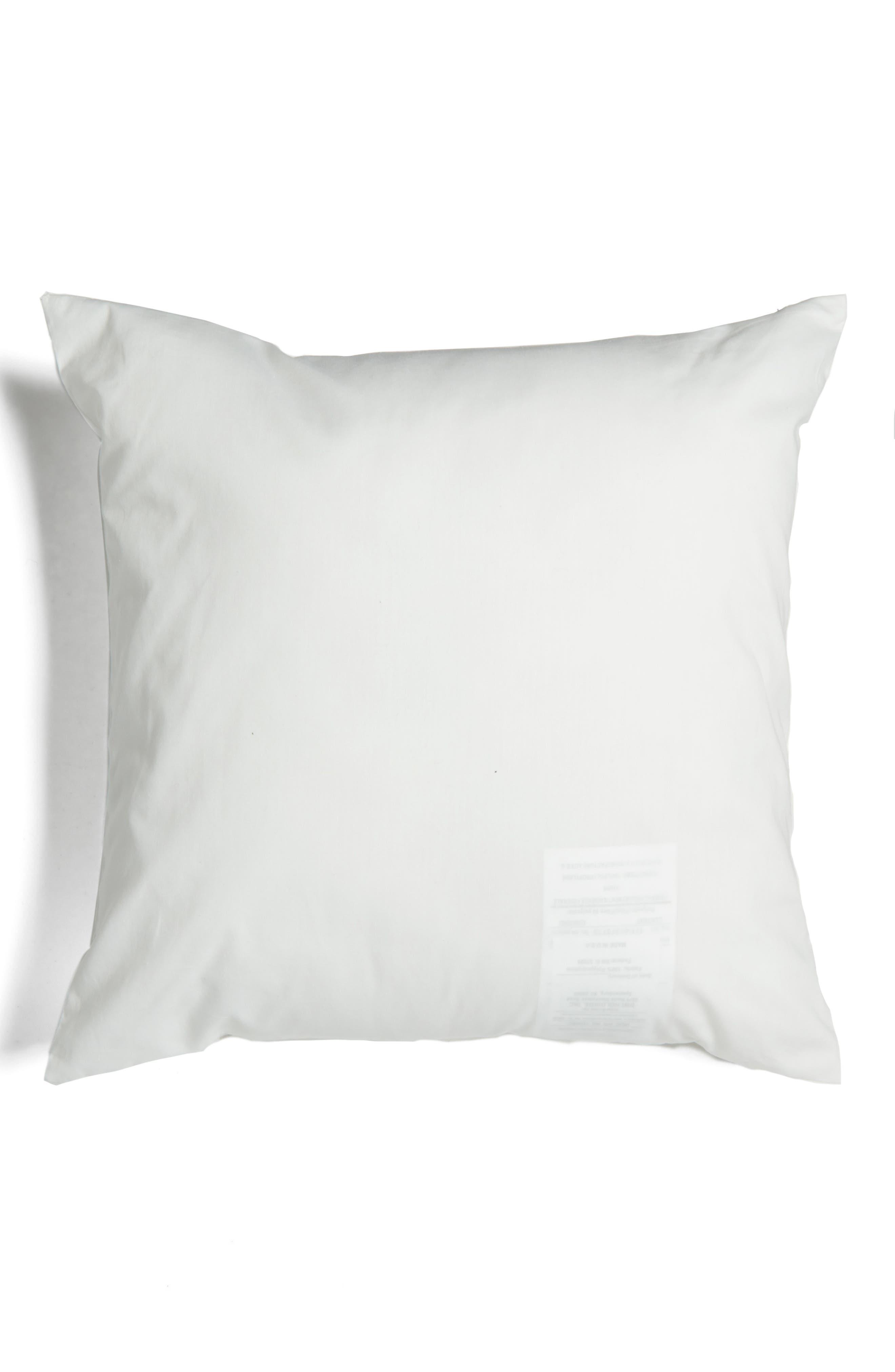 binki dot accent pillow,                             Alternate thumbnail 2, color,                             WHITE/ PLATINUM