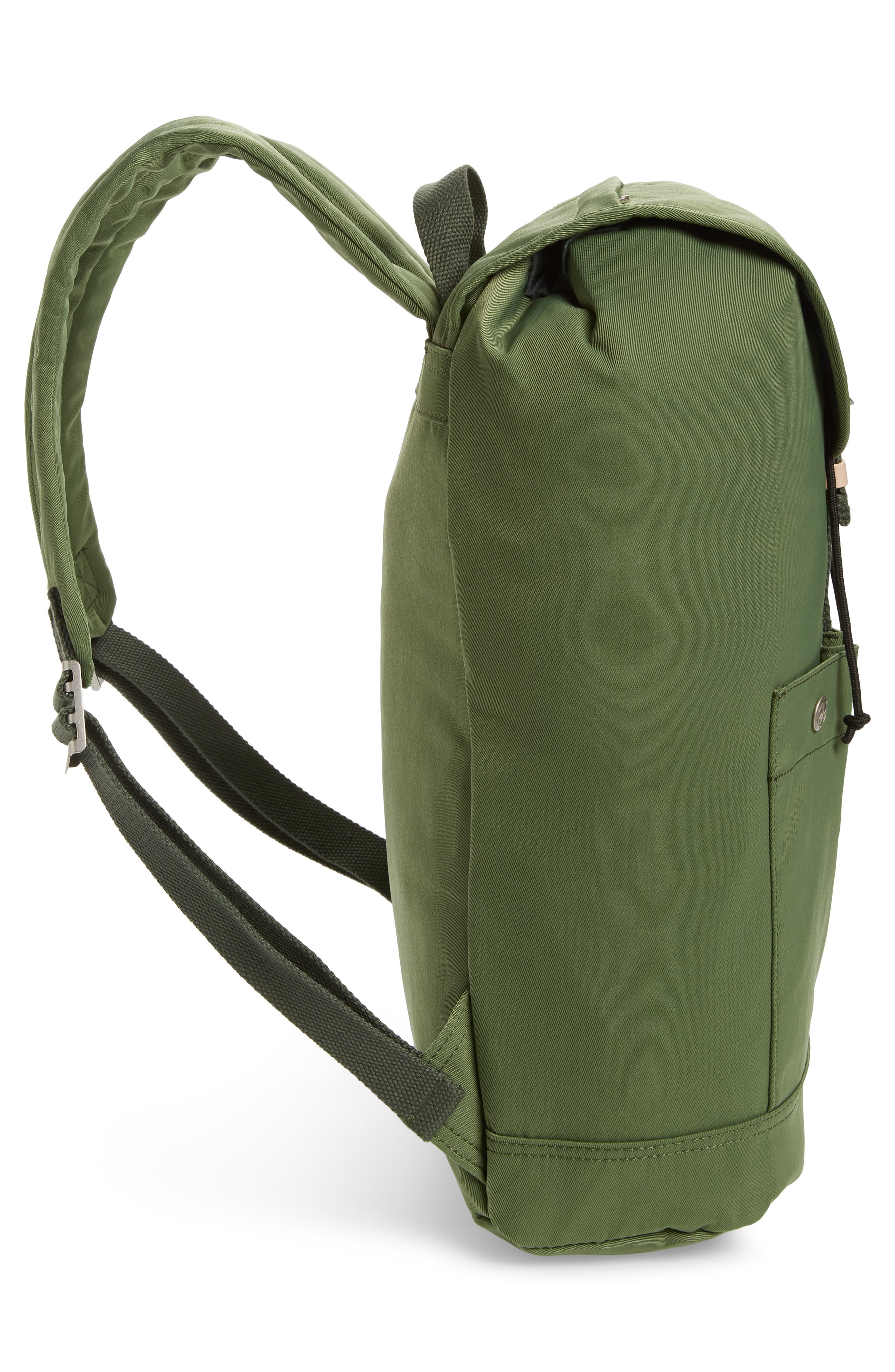 Montana Water Repellent Backpack,                             Alternate thumbnail 5, color,                             ARMY