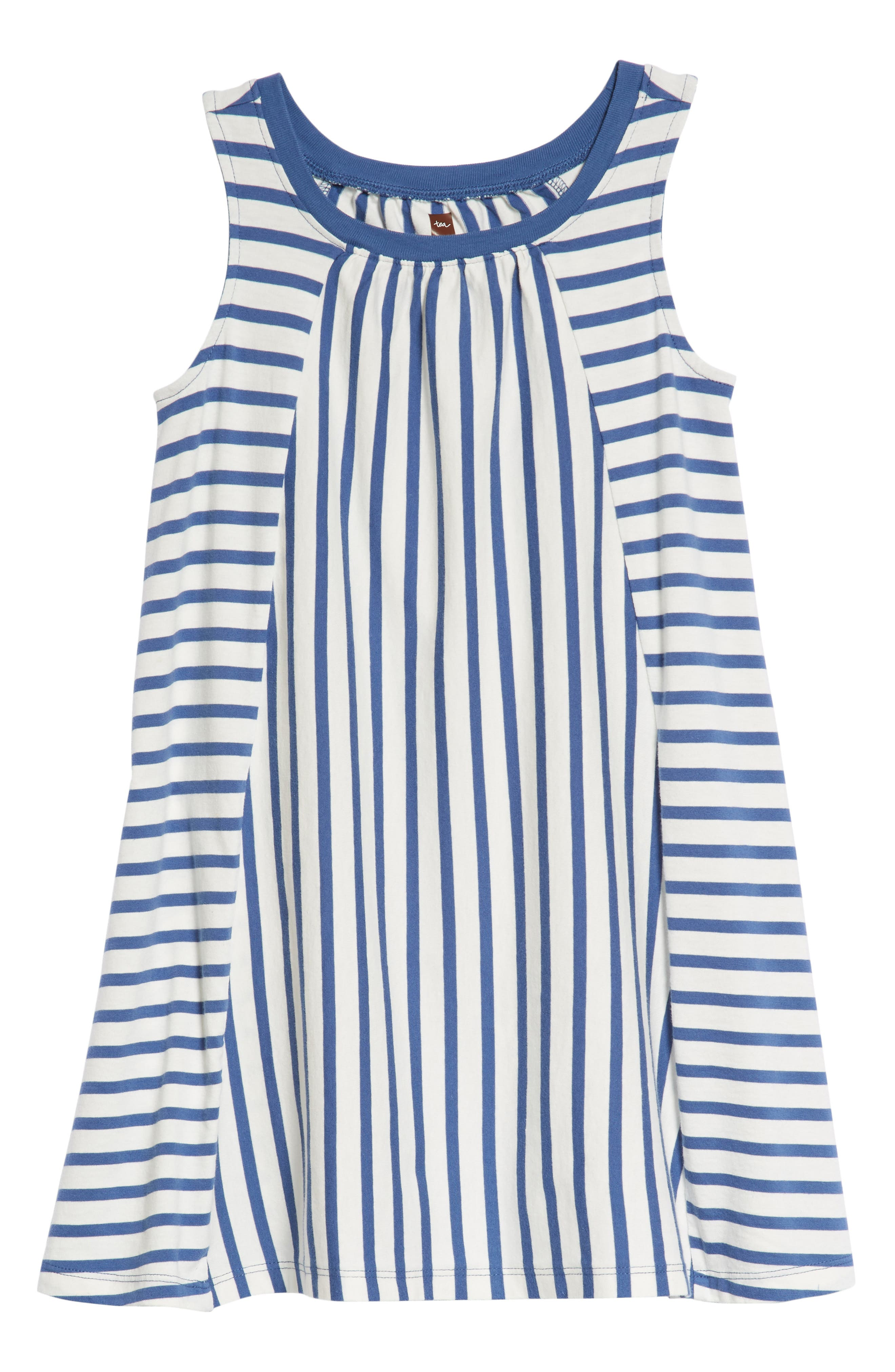 Stripe Trapeze Dress,                         Main,                         color, 415