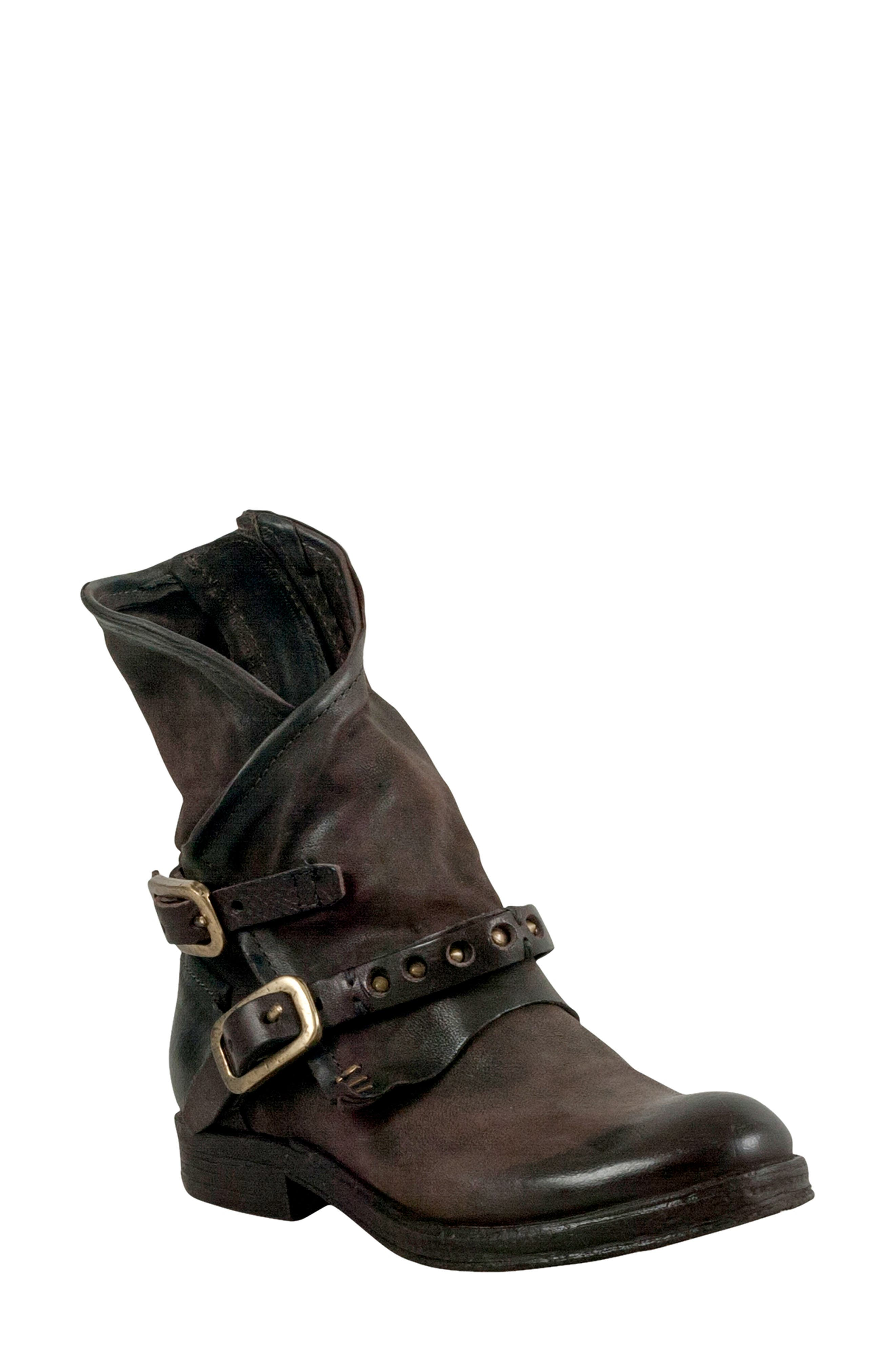 A.S.98 Ipswich Bootie in Chocolate