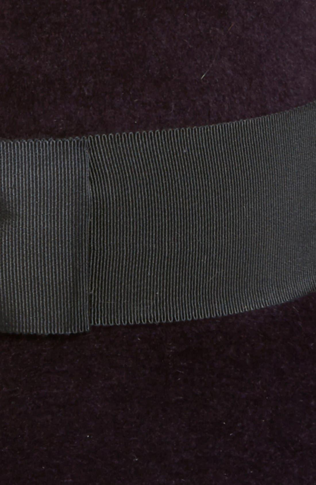 Rabbit Hair Felt Hat,                             Alternate thumbnail 6, color,