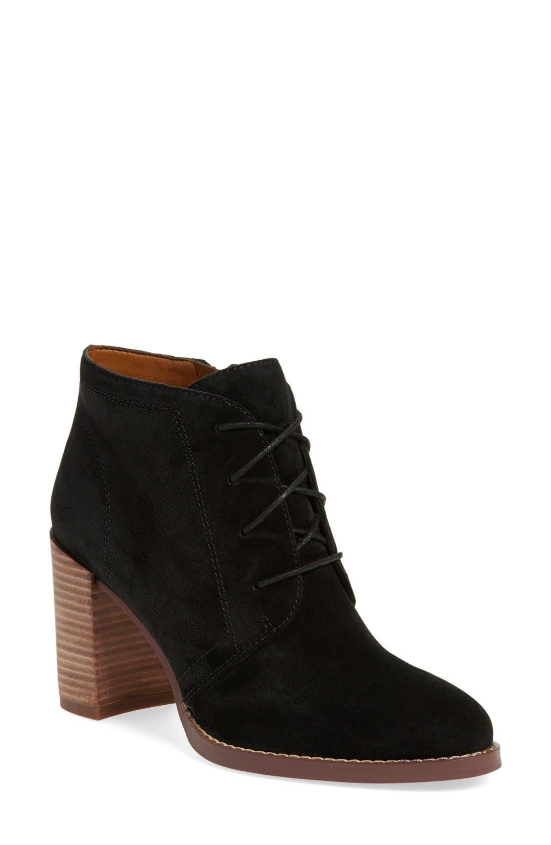 'Omani' Block Heel Bootie,                         Main,                         color, 001