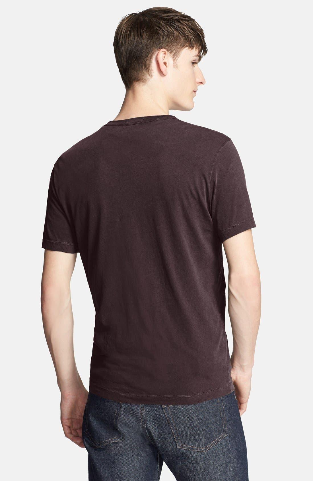 Crewneck Jersey T-Shirt,                             Alternate thumbnail 206, color,