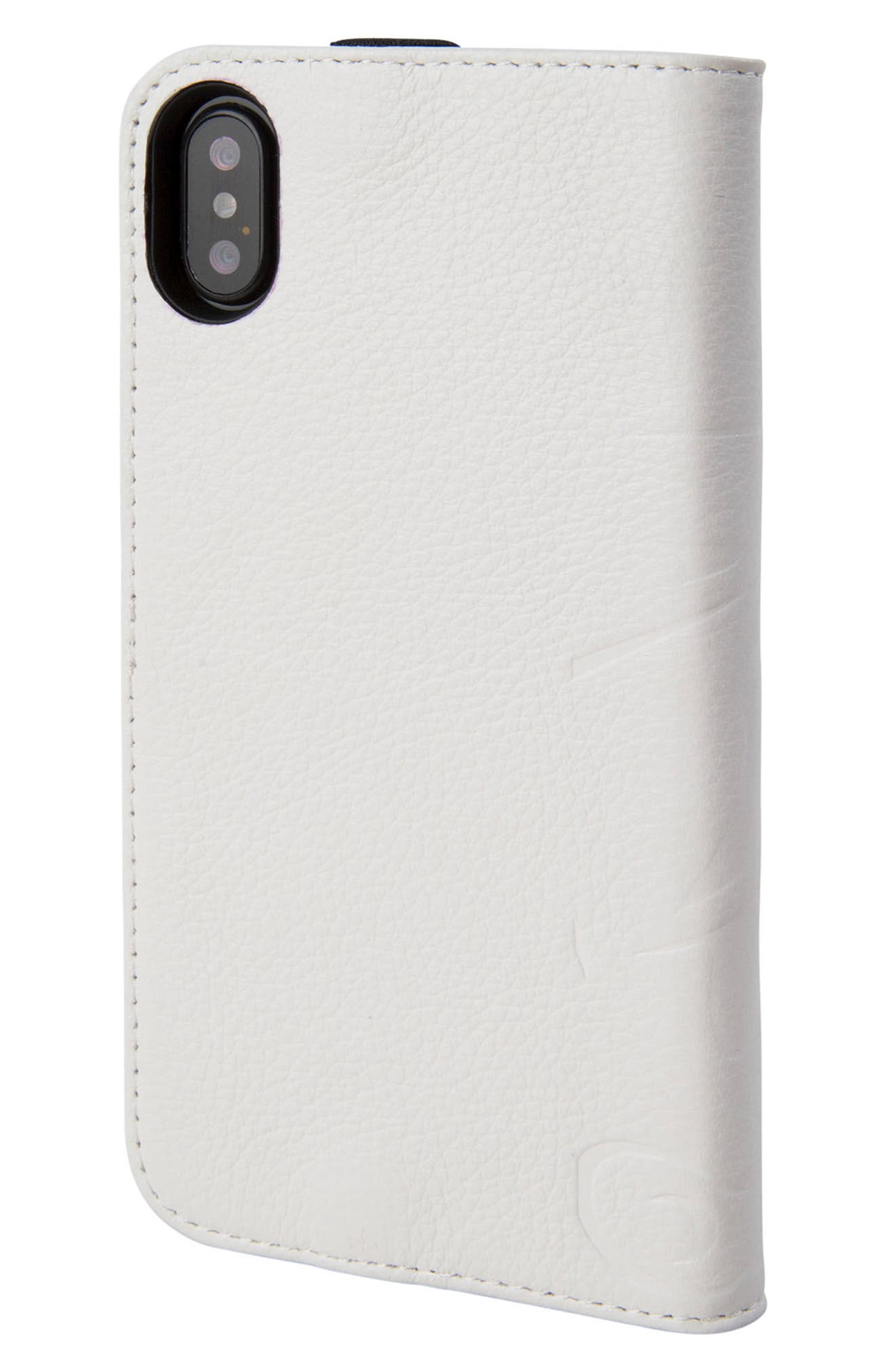 Stormtrooper iPhone X Wallet Case,                             Alternate thumbnail 3, color,                             158