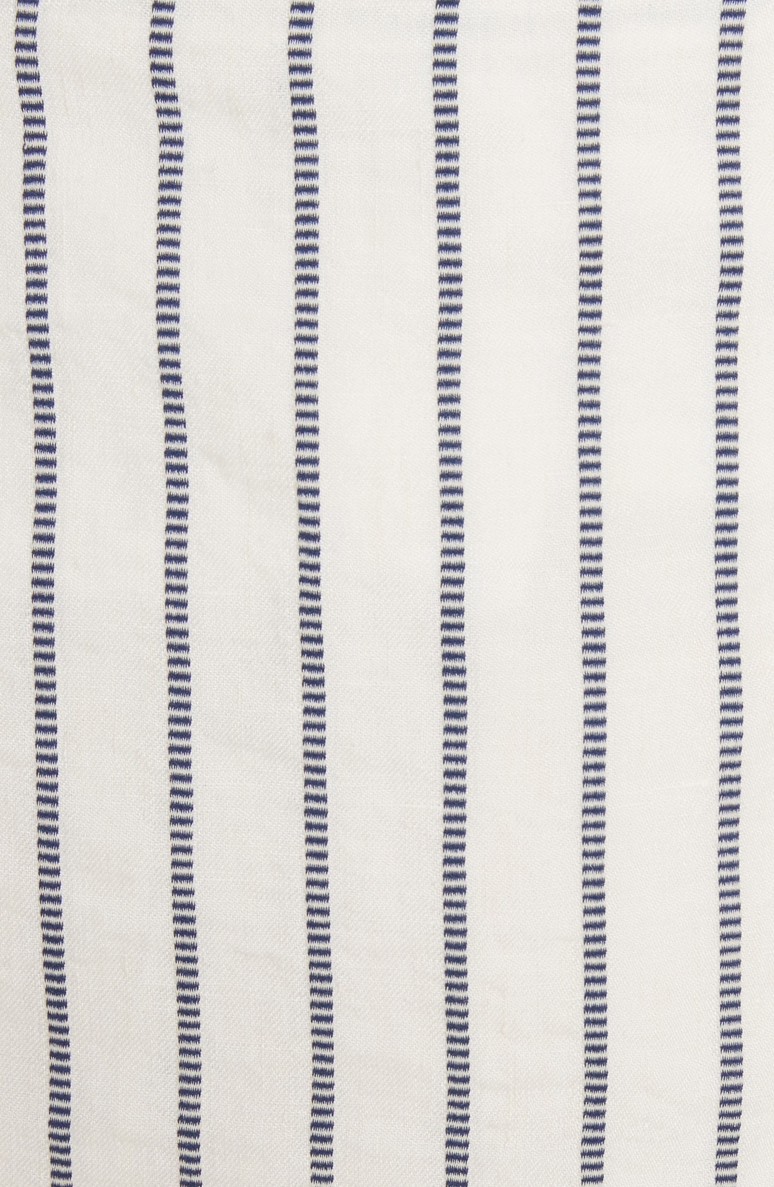 Tie Wrap Stripe Miniskirt,                             Alternate thumbnail 5, color,                             497