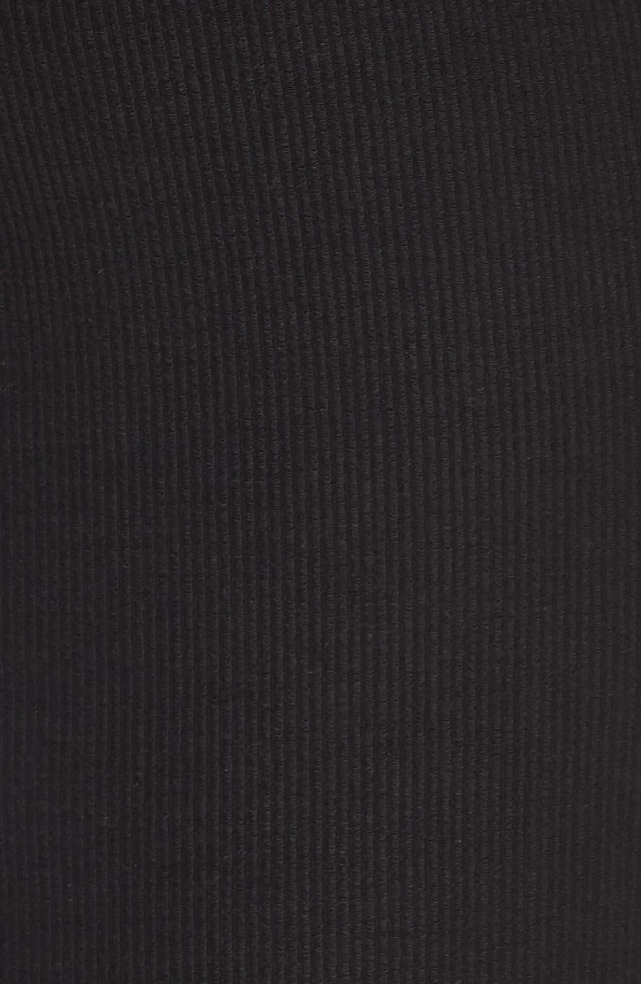 5-Pocket Skinny Pants,                             Alternate thumbnail 2, color,                             BLACK