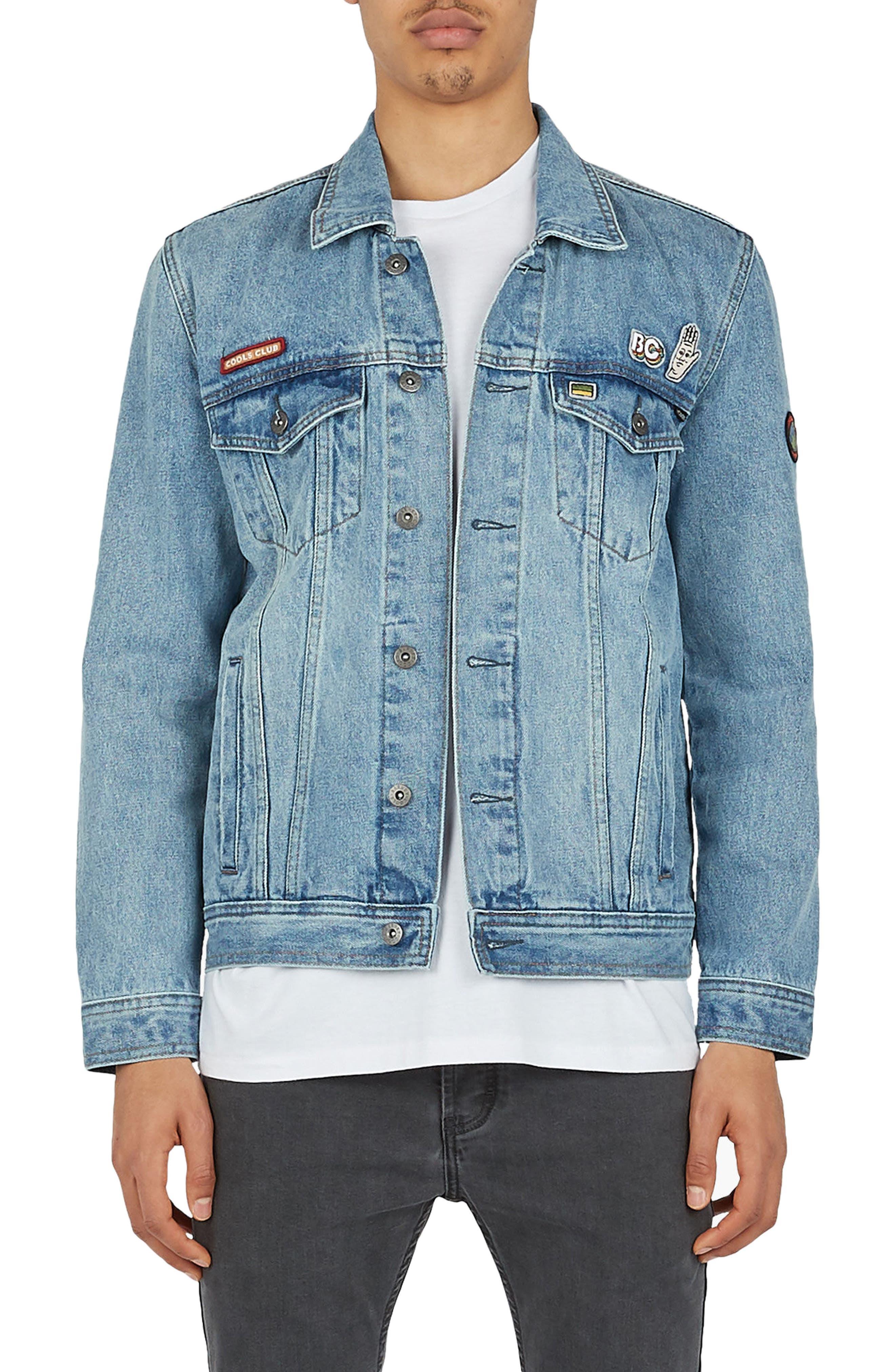 B. Rigid Denim Jacket,                             Main thumbnail 1, color,                             425