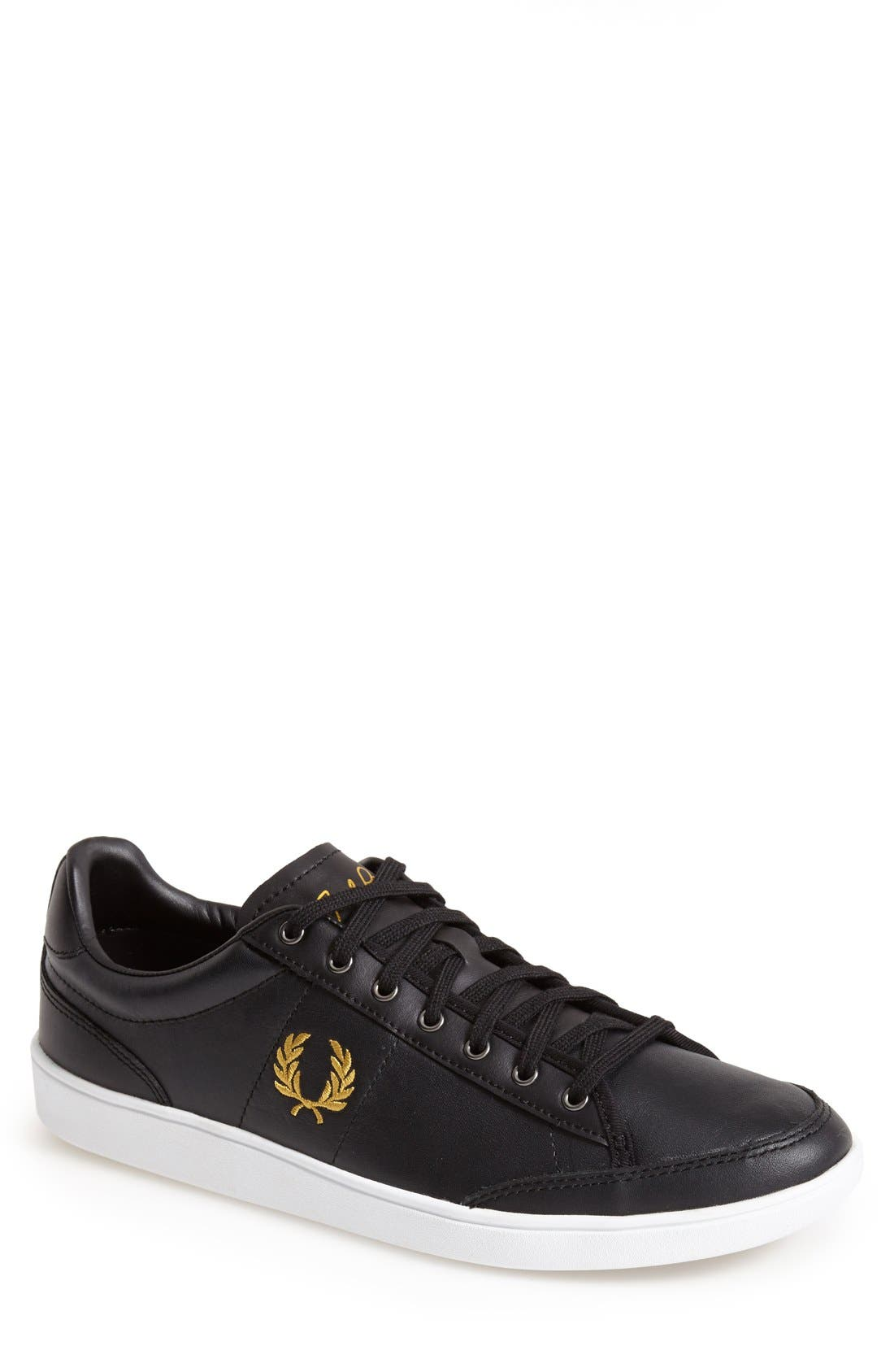 FRED PERRY 'Hopman' Sneaker, Main, color, 001
