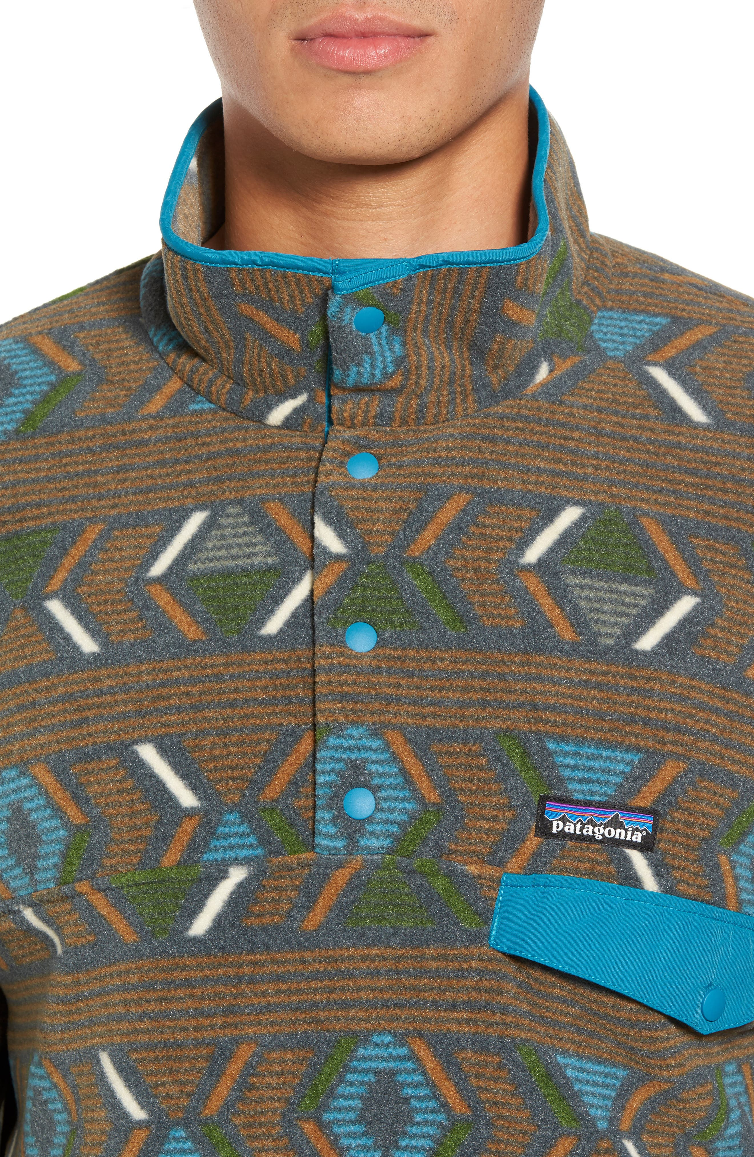 Synchilla<sup>®</sup> Snap-T<sup>®</sup> Pullover,                             Alternate thumbnail 4, color,                             203