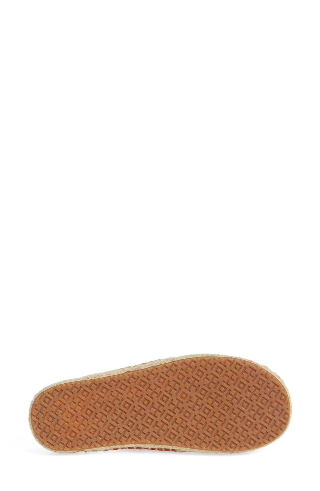 TORY BURCH,                             'Bima' Espadrille Slide Sandal,                             Alternate thumbnail 3, color,                             601