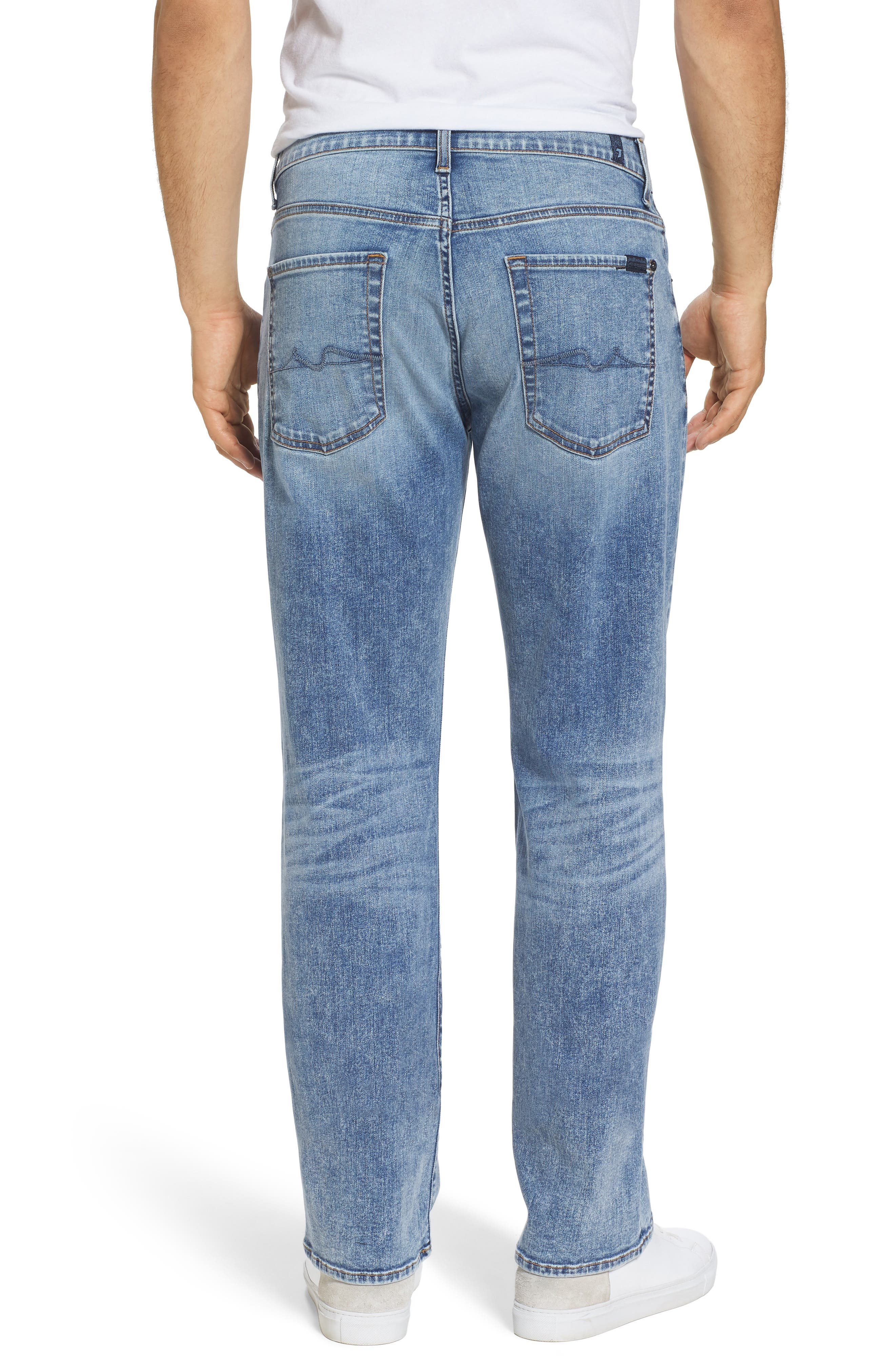 7 FOR ALL MANKIND<SUP>®</SUP>,                             Austyn - Luxe Performance Relaxed Fit Jeans,                             Alternate thumbnail 2, color,                             404
