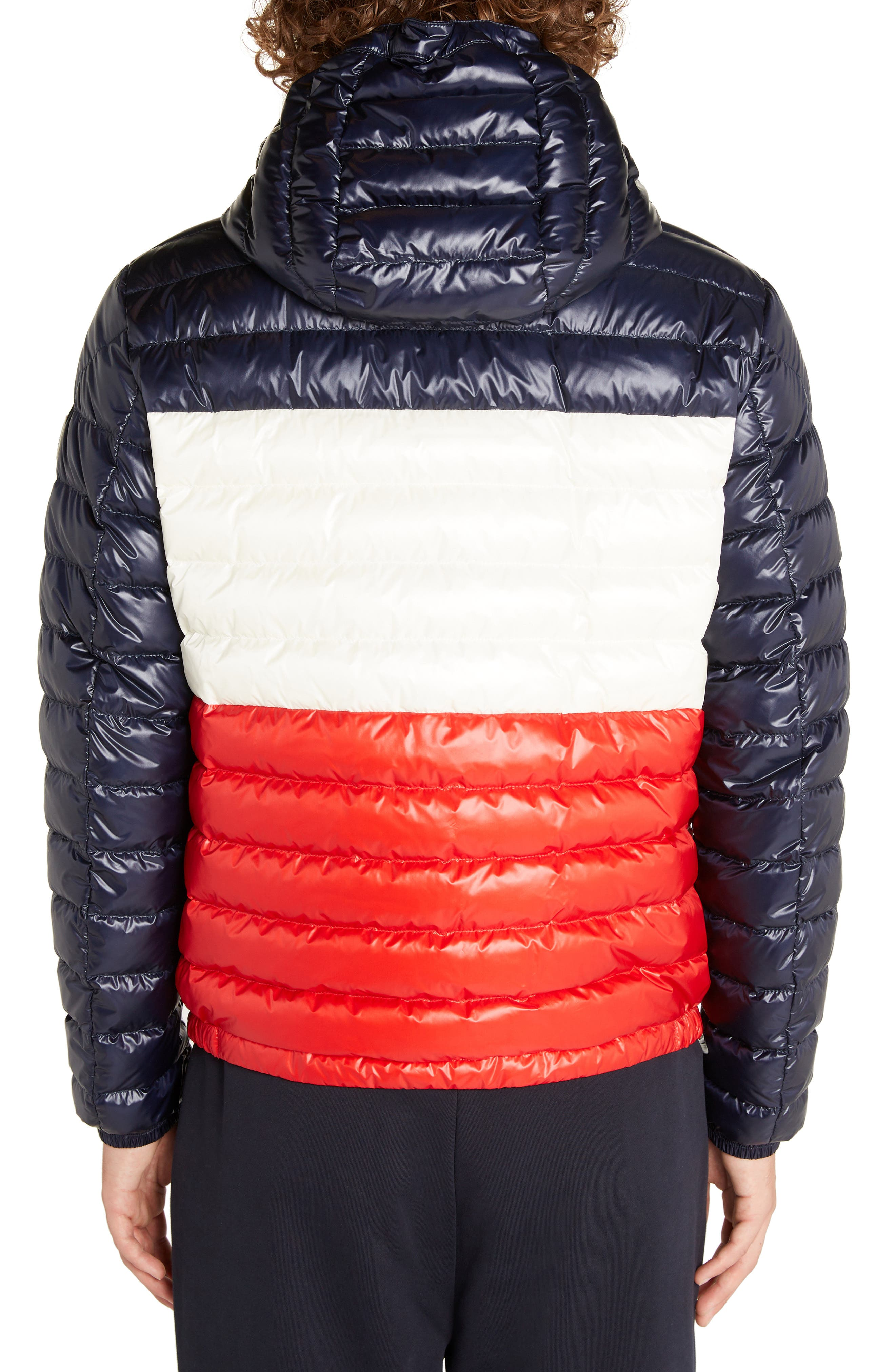 Palliser Colorblock Hooded Jacket,                             Alternate thumbnail 2, color,                             BLUE