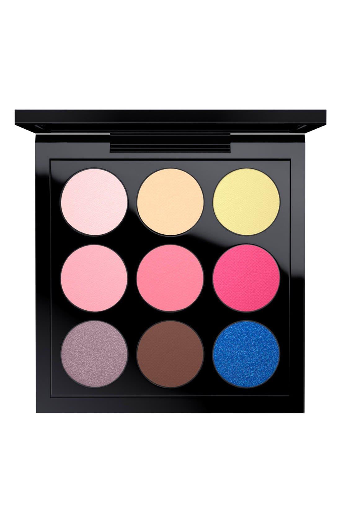 MAC Solar Glow Times Nine Eyeshadow Palette,                             Main thumbnail 12, color,