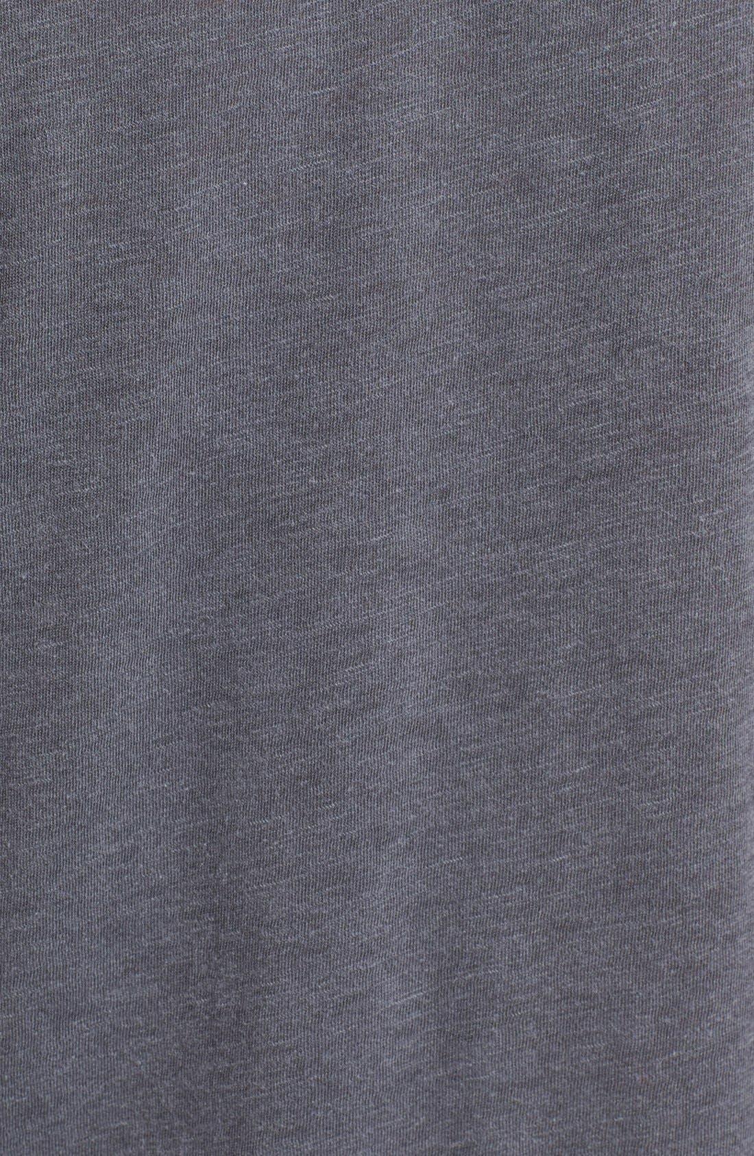 Knot Detail Slub Knit Tee,                             Alternate thumbnail 55, color,