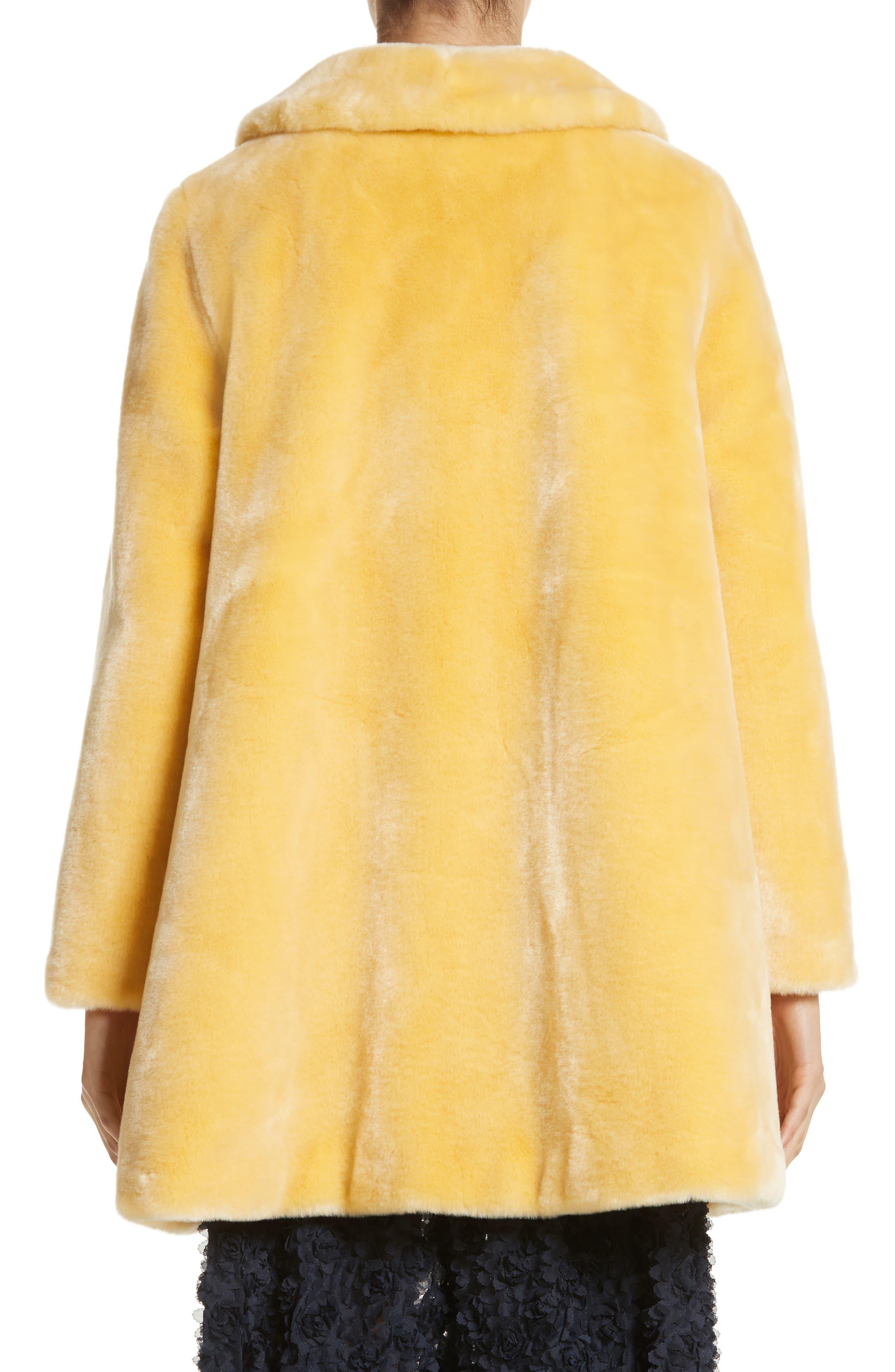 Pyrus Oversized Faux Fur Coat,                             Alternate thumbnail 2, color,                             700