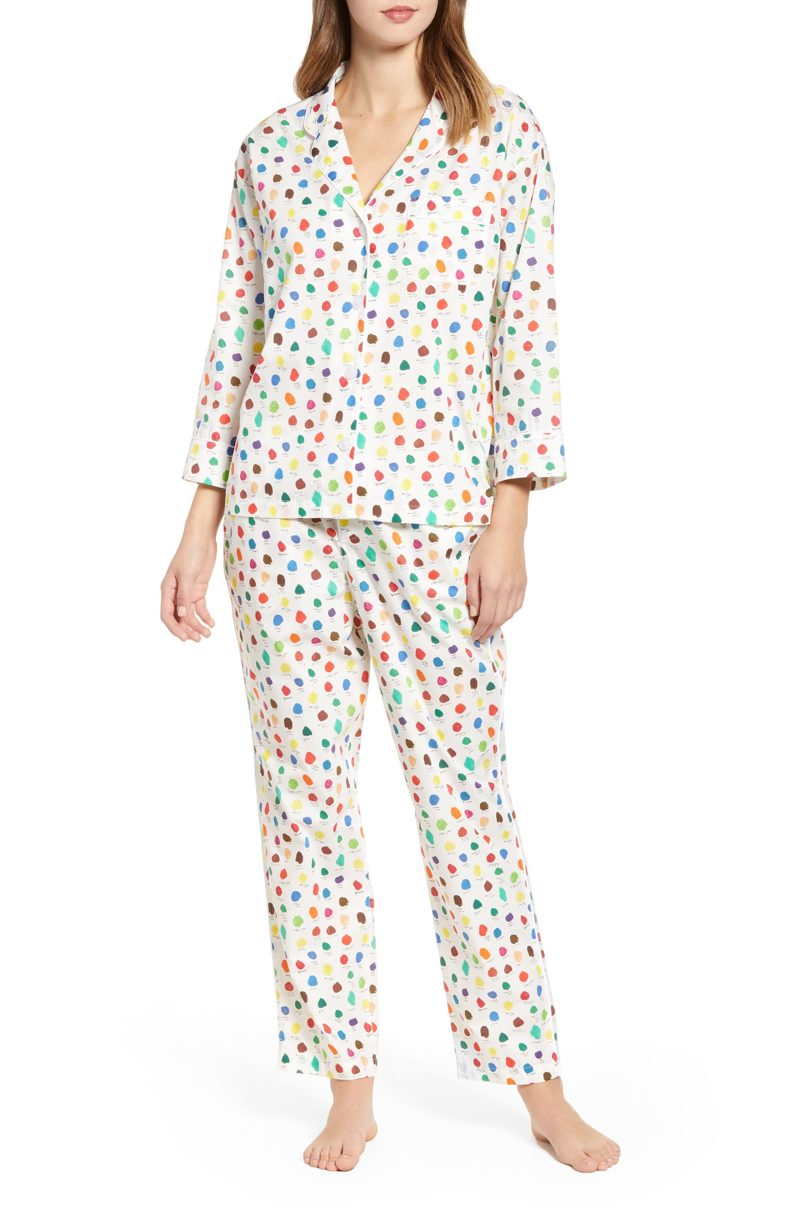 SLEEPY JONES Pajamas in Cream