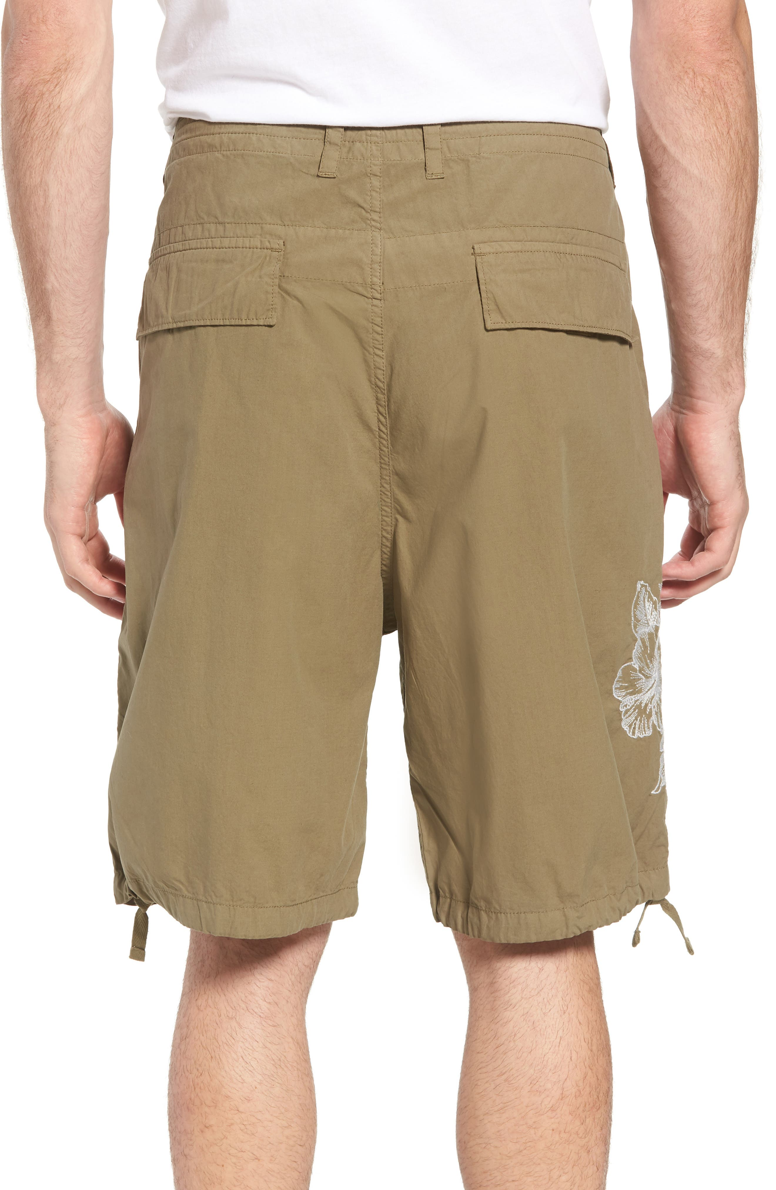 Embroidered Poplin Shorts,                             Alternate thumbnail 2, color,                             301