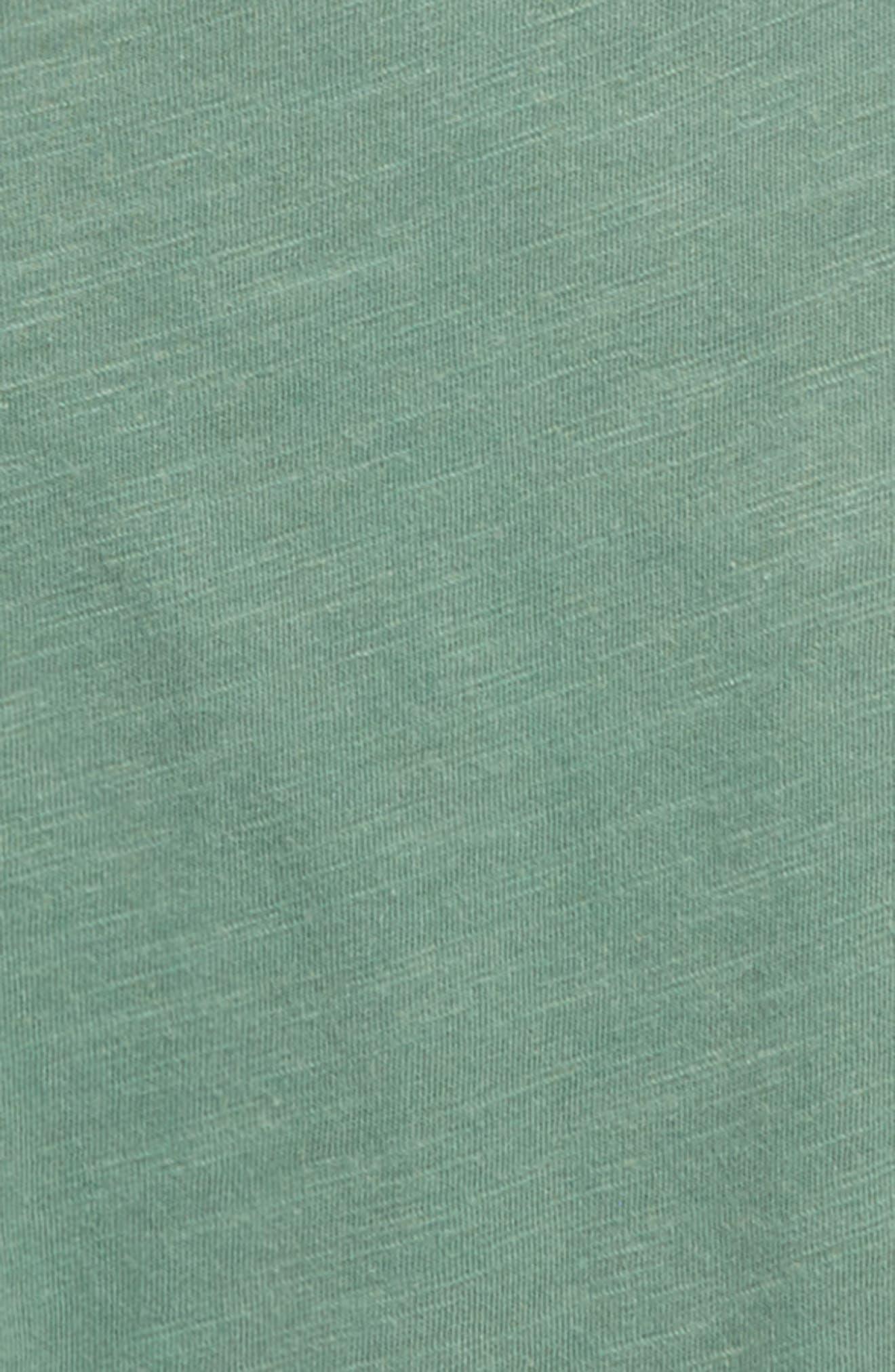 Washed Slub Jersey T-Shirt,                             Alternate thumbnail 3, color,