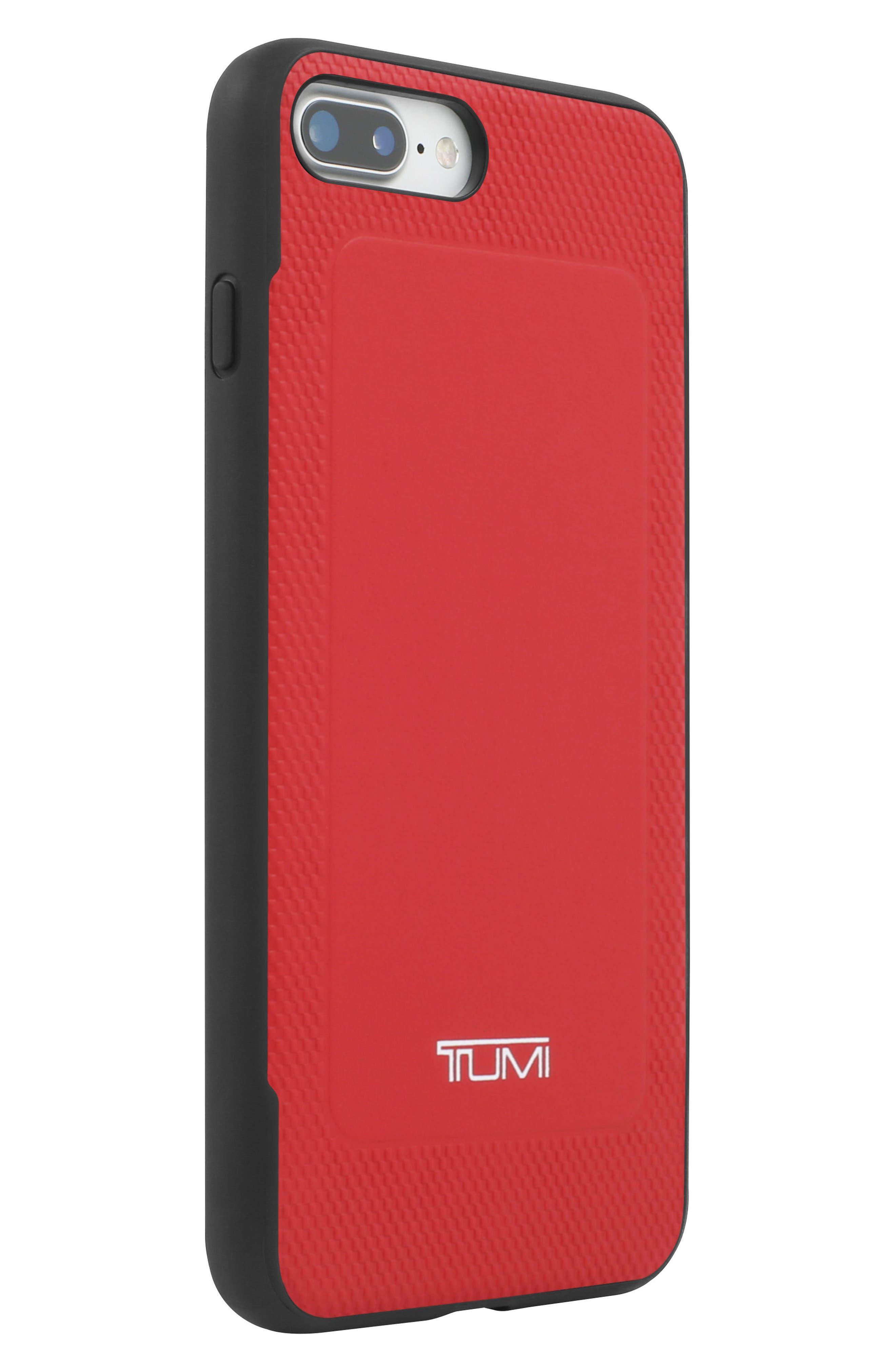 Leather iPhone 8 Plus Case,                             Alternate thumbnail 4, color,