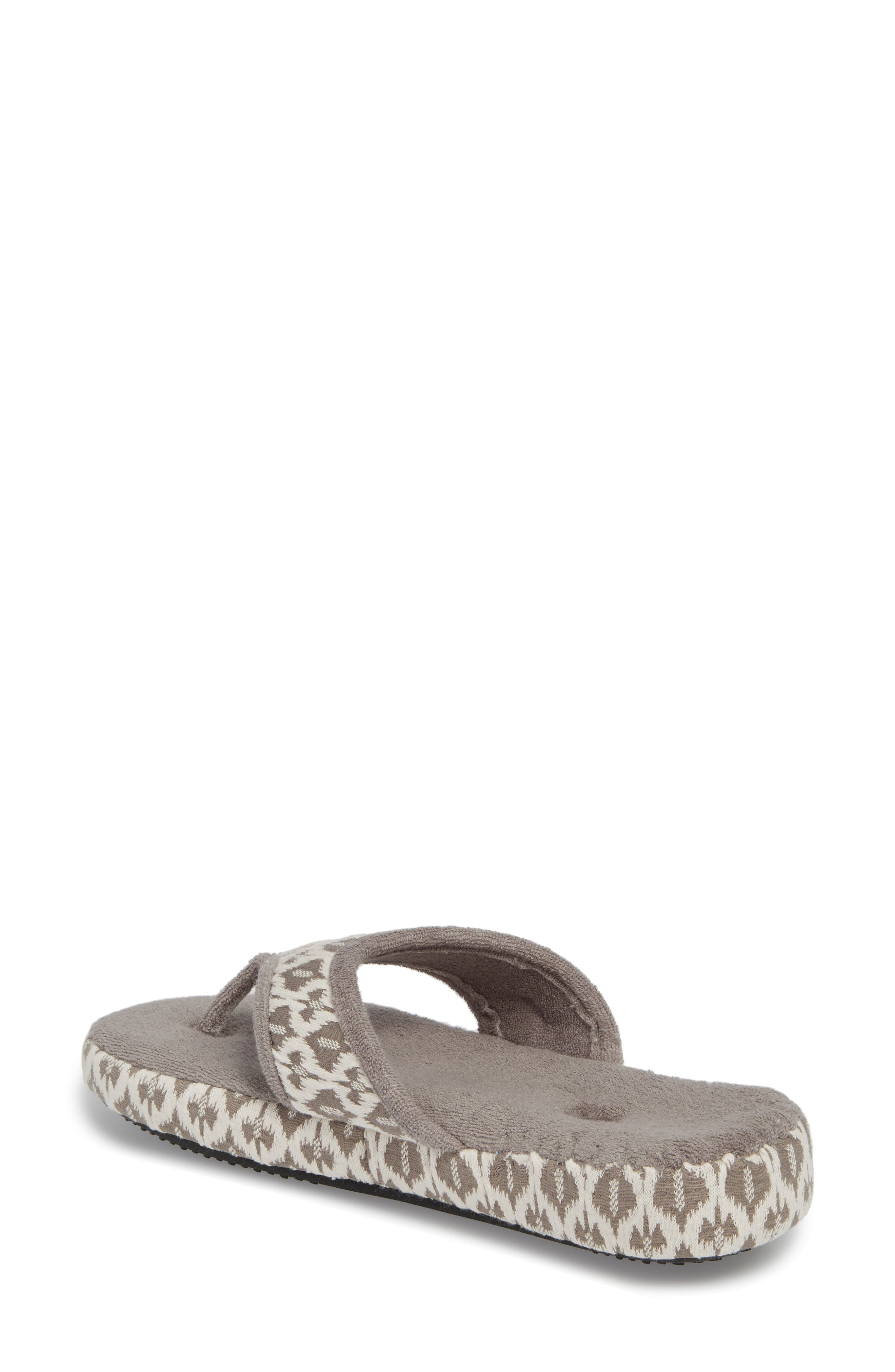 'Summerweight' Slipper,                             Alternate thumbnail 2, color,                             ASH TRIBAL