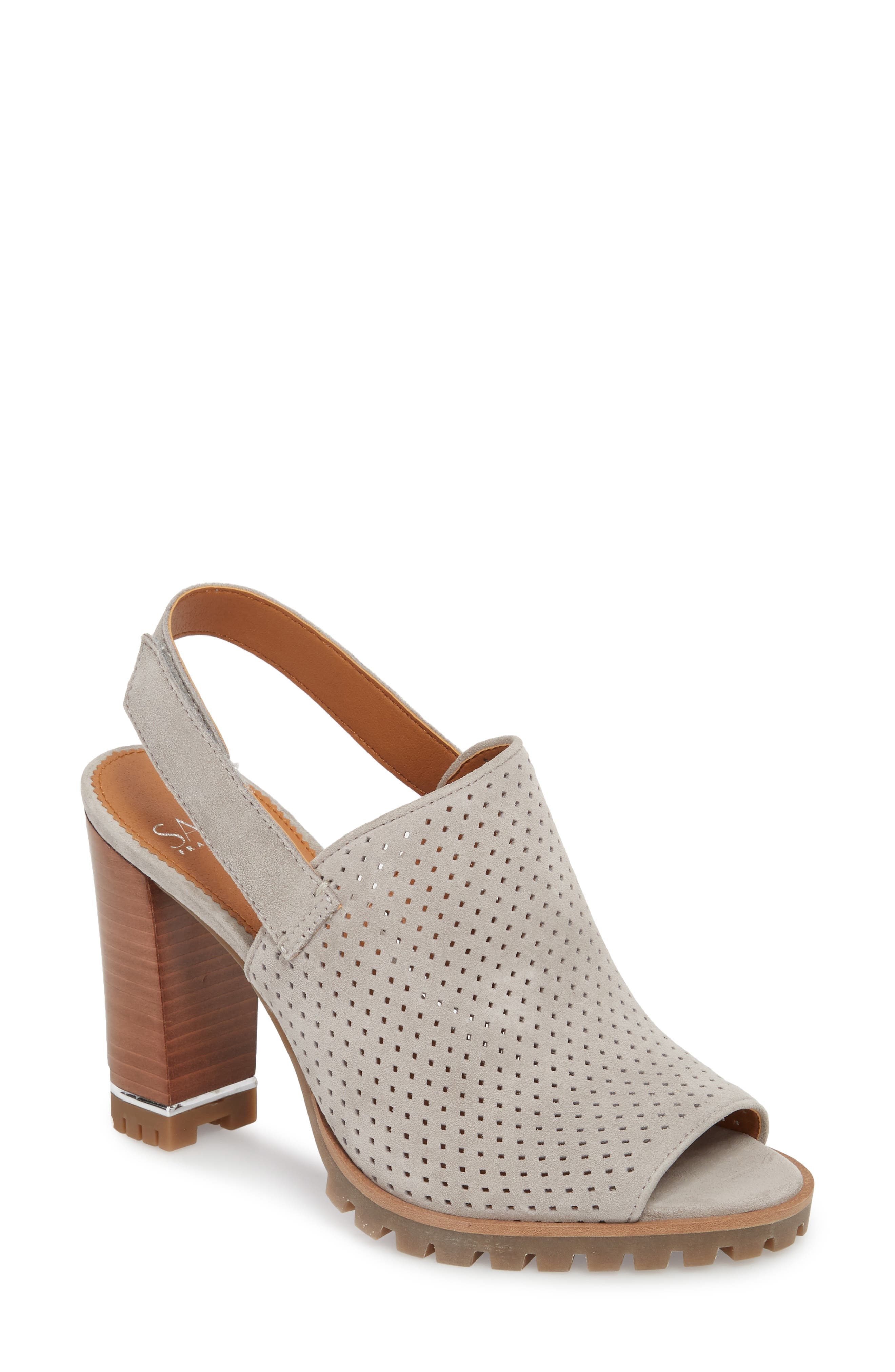Analise Sandal,                             Main thumbnail 1, color,                             GREY SUEDE