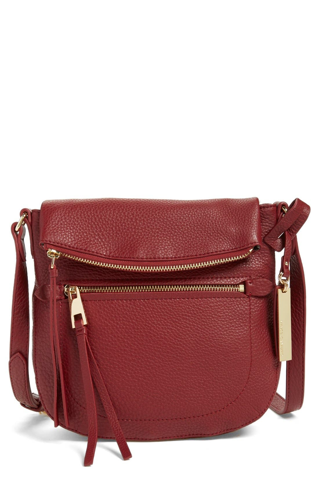 'Tala' Leather Crossbody Bag,                             Main thumbnail 6, color,