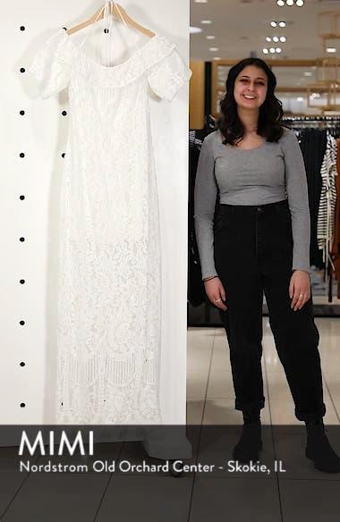 Tasha Off the Shoulder Halter Maxi Dress, sales video thumbnail