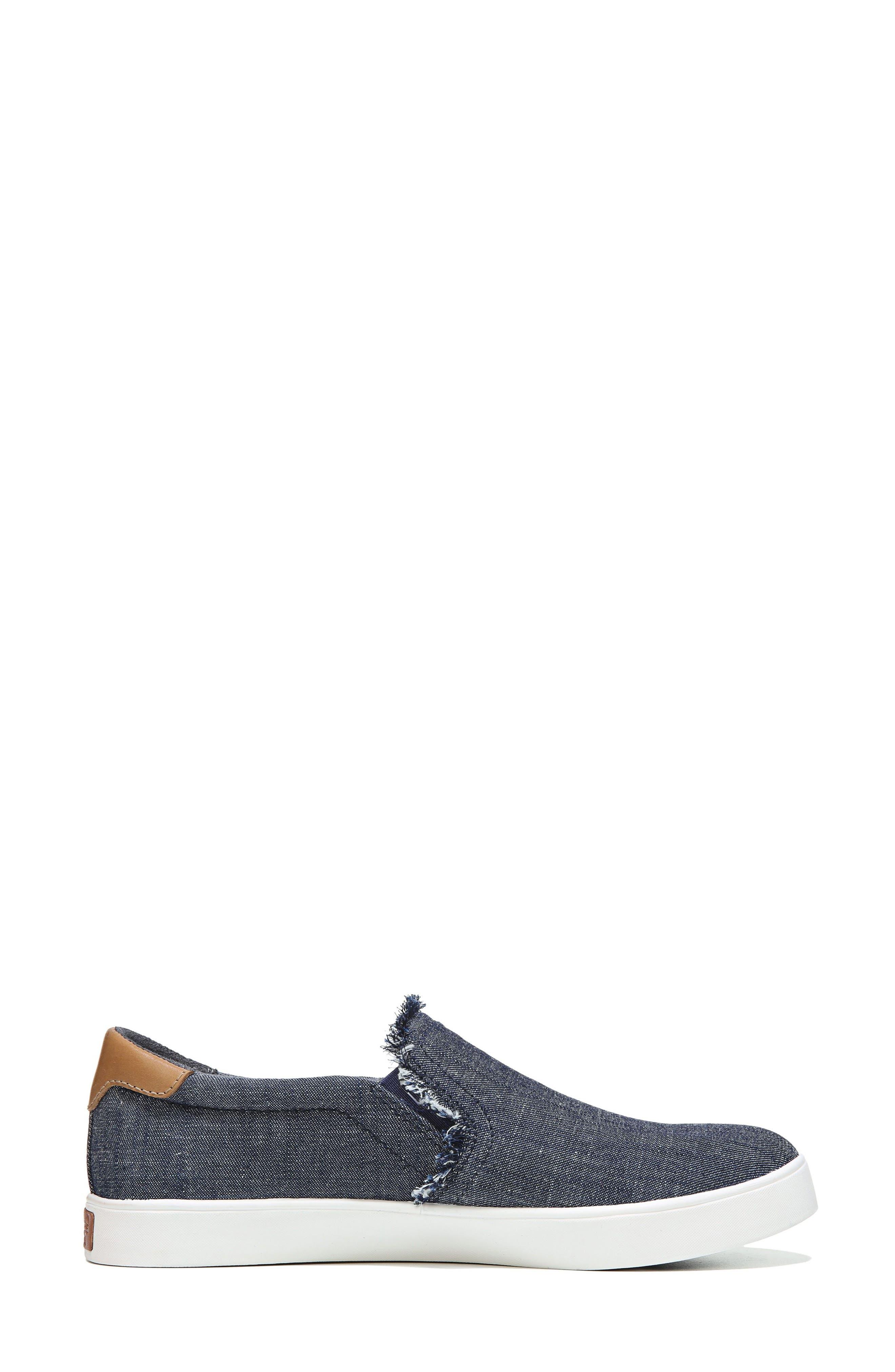 Scout Fray Slip-on Sneaker,                             Alternate thumbnail 9, color,                             400