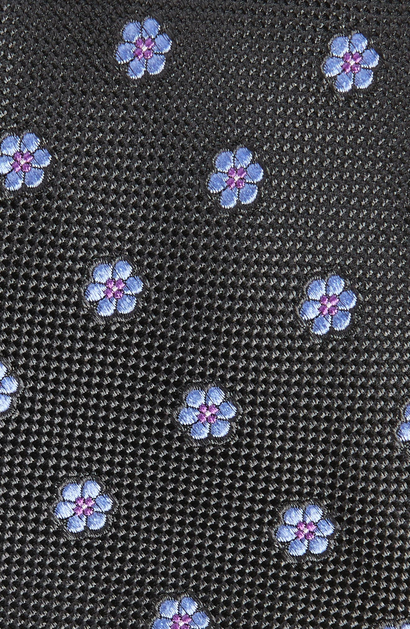Calibrate Cloisters Neat Silk Tie,                             Alternate thumbnail 9, color,