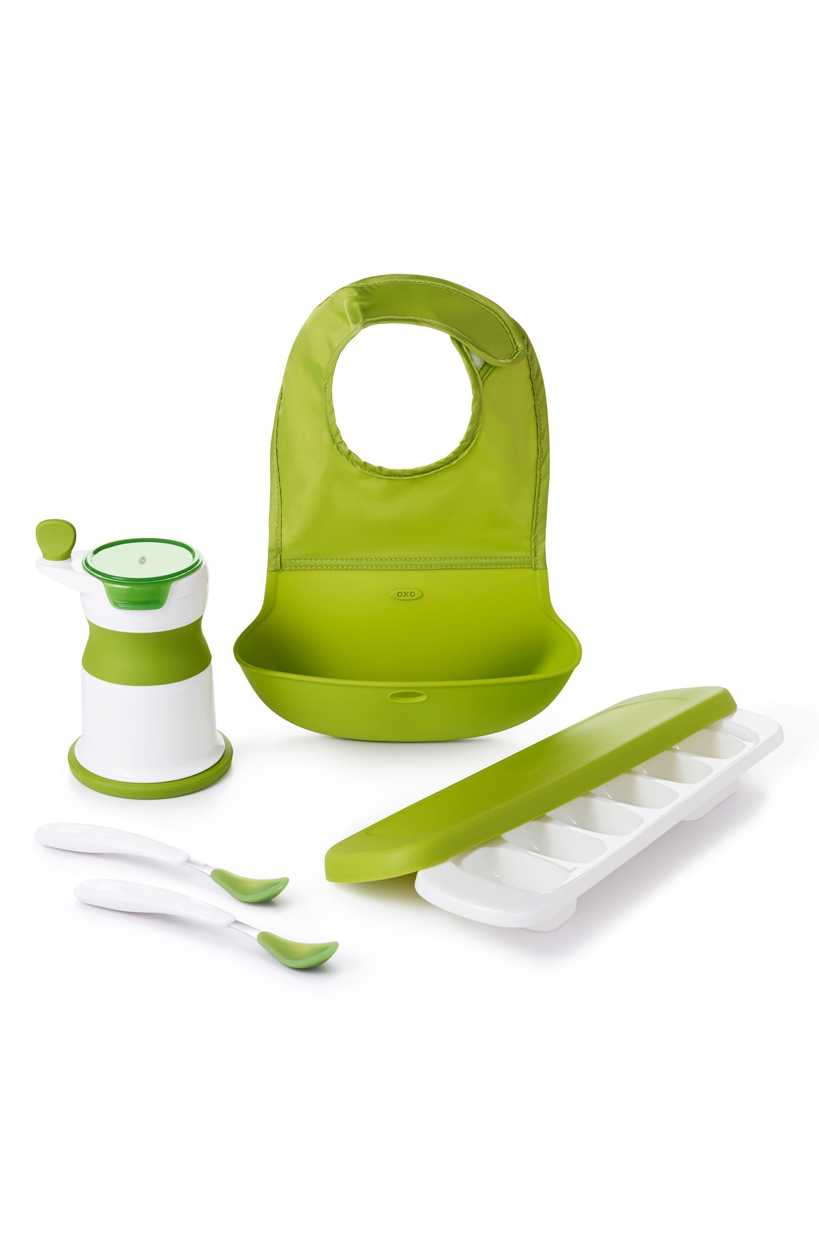 Infant Oxo Tot Mealtime Essentials Set Size One Size  Green