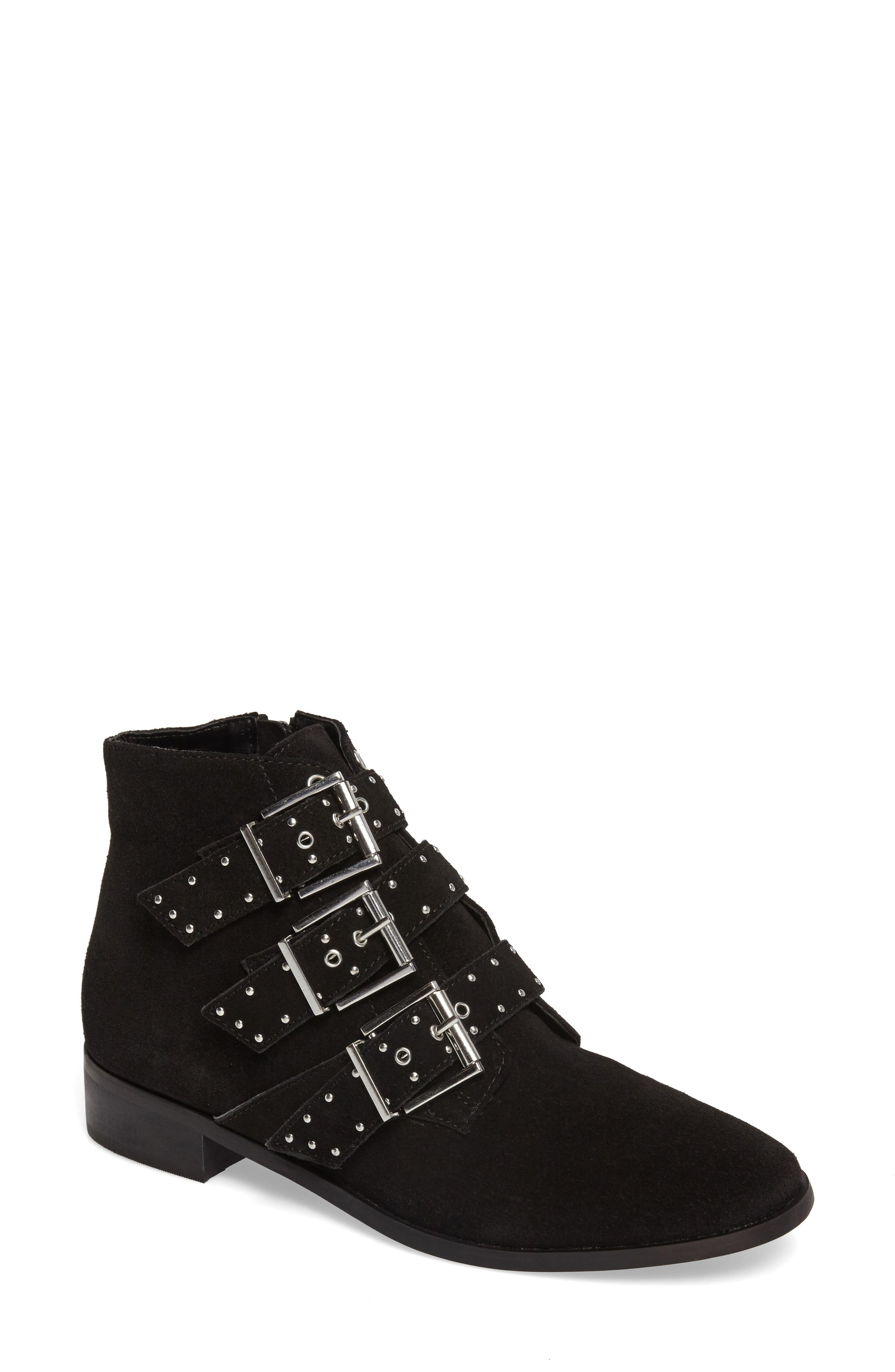 Krown Studded Bootie,                             Main thumbnail 1, color,