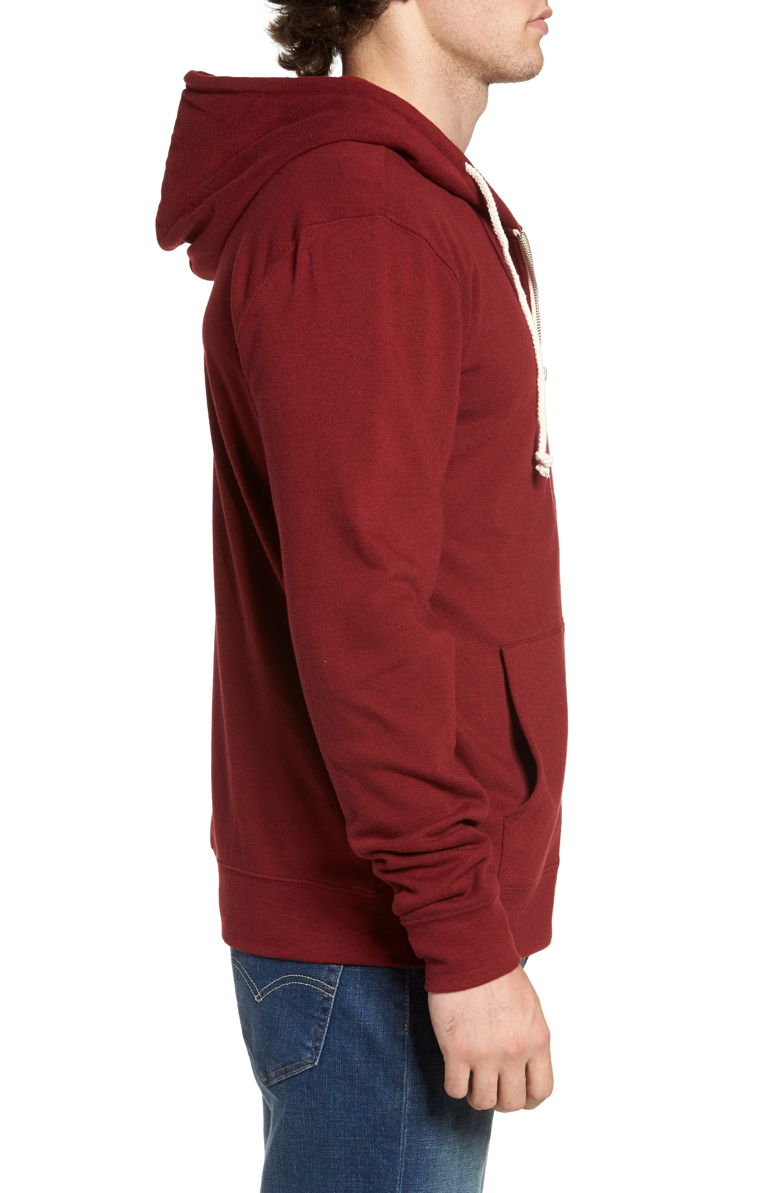 Threads for Thought Trim Fit Heathered Hoodie,                             Alternate thumbnail 43, color,