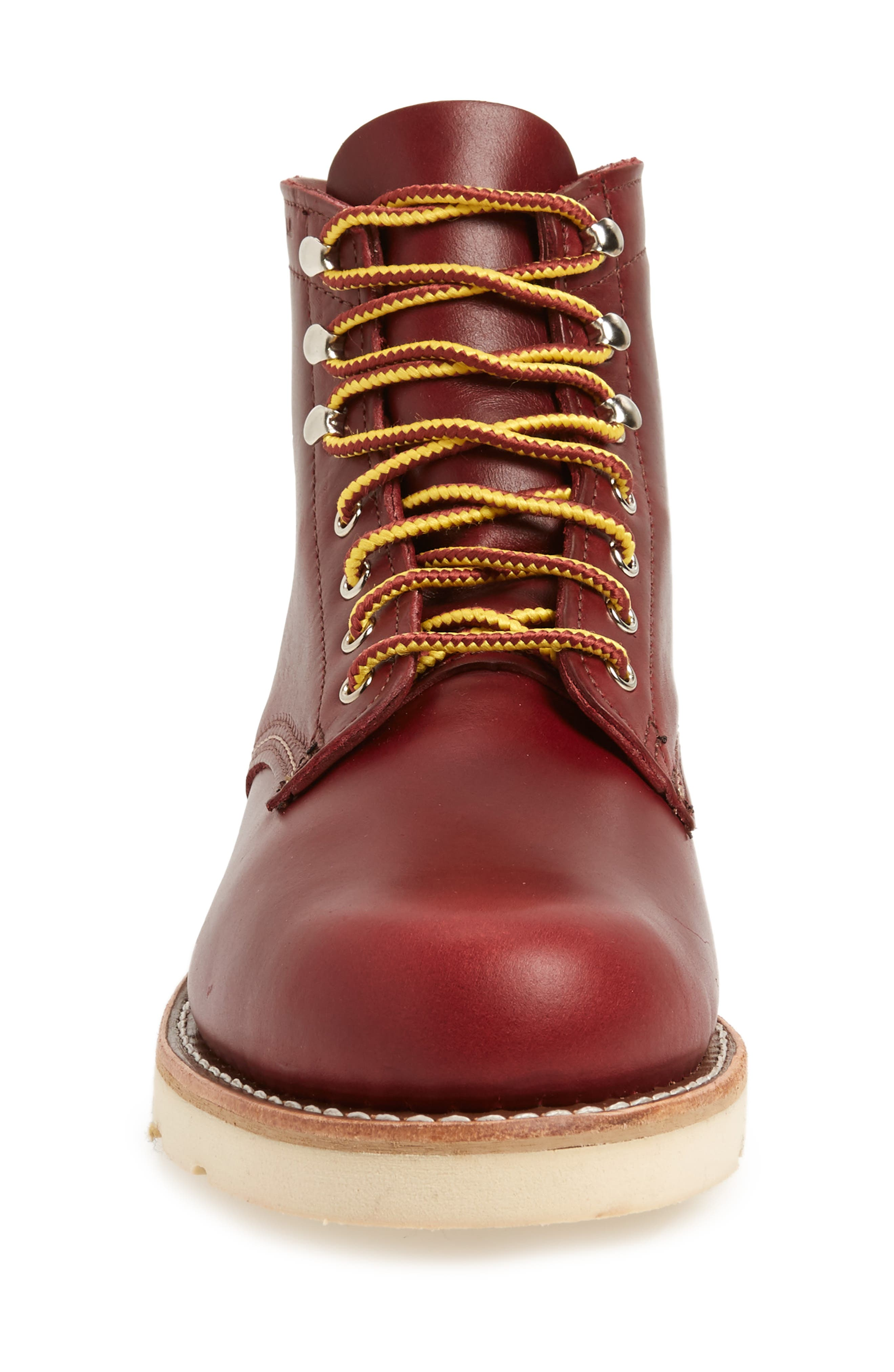 1000 Mile Wedge Boot,                             Alternate thumbnail 4, color,                             RED