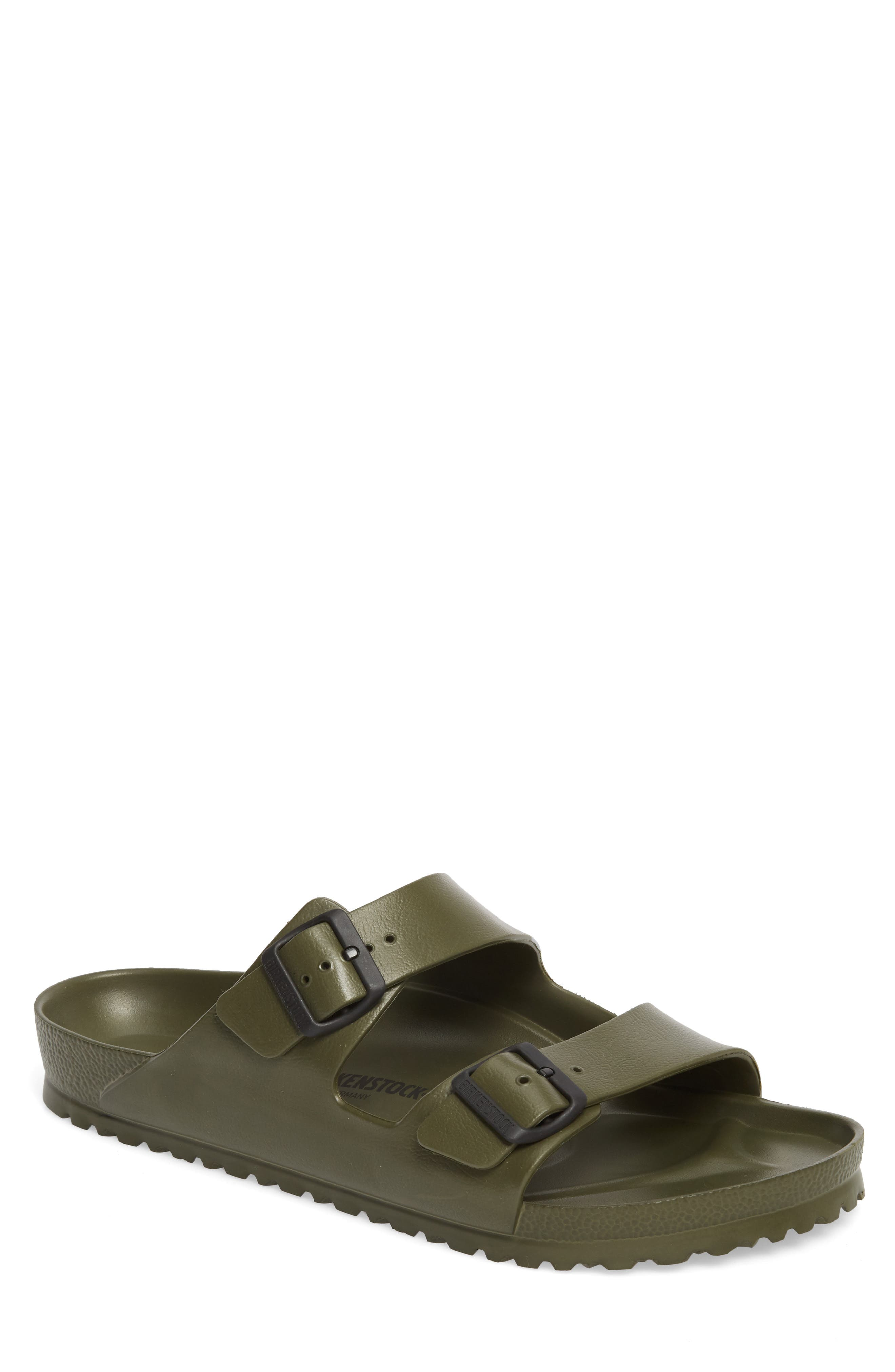 'Essentials - Arizona EVA' Waterproof Slide Sandal,                         Main,                         color, GREEN