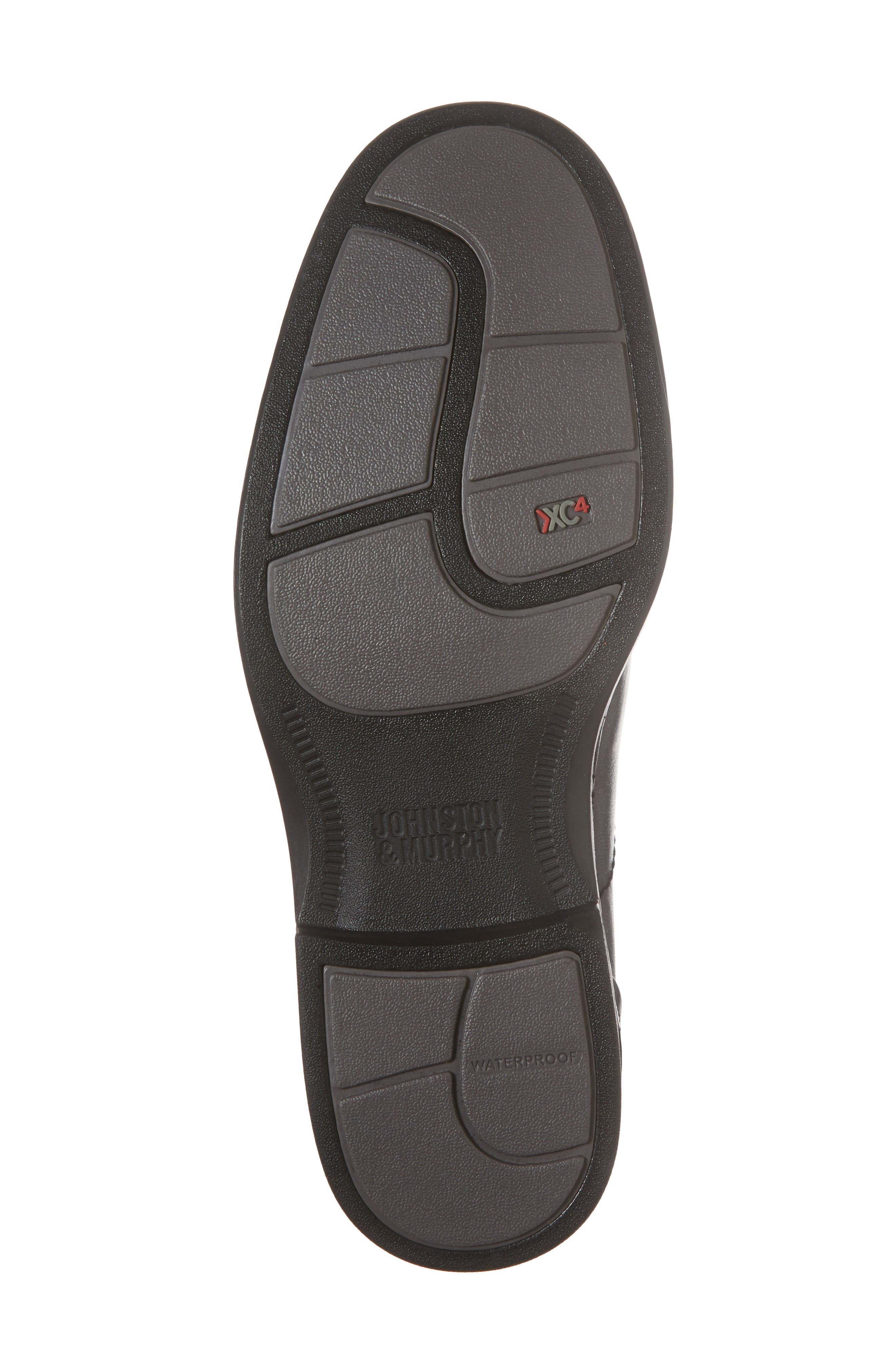 Stanton Runoff XC4<sup>®</sup> Waterproof Bike Toe Slip-On,                             Alternate thumbnail 6, color,                             BLACK LEATHER