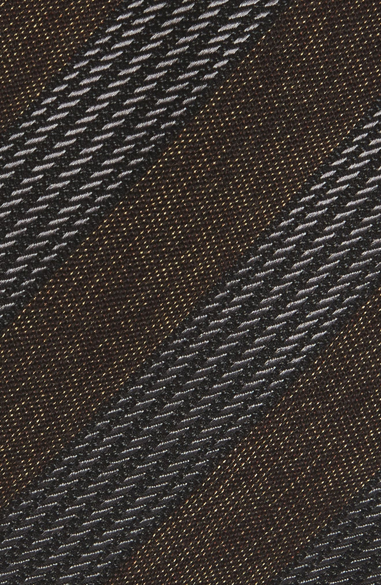 Stripe Cotton, Silk & Wool Tie,                             Alternate thumbnail 2, color,                             200
