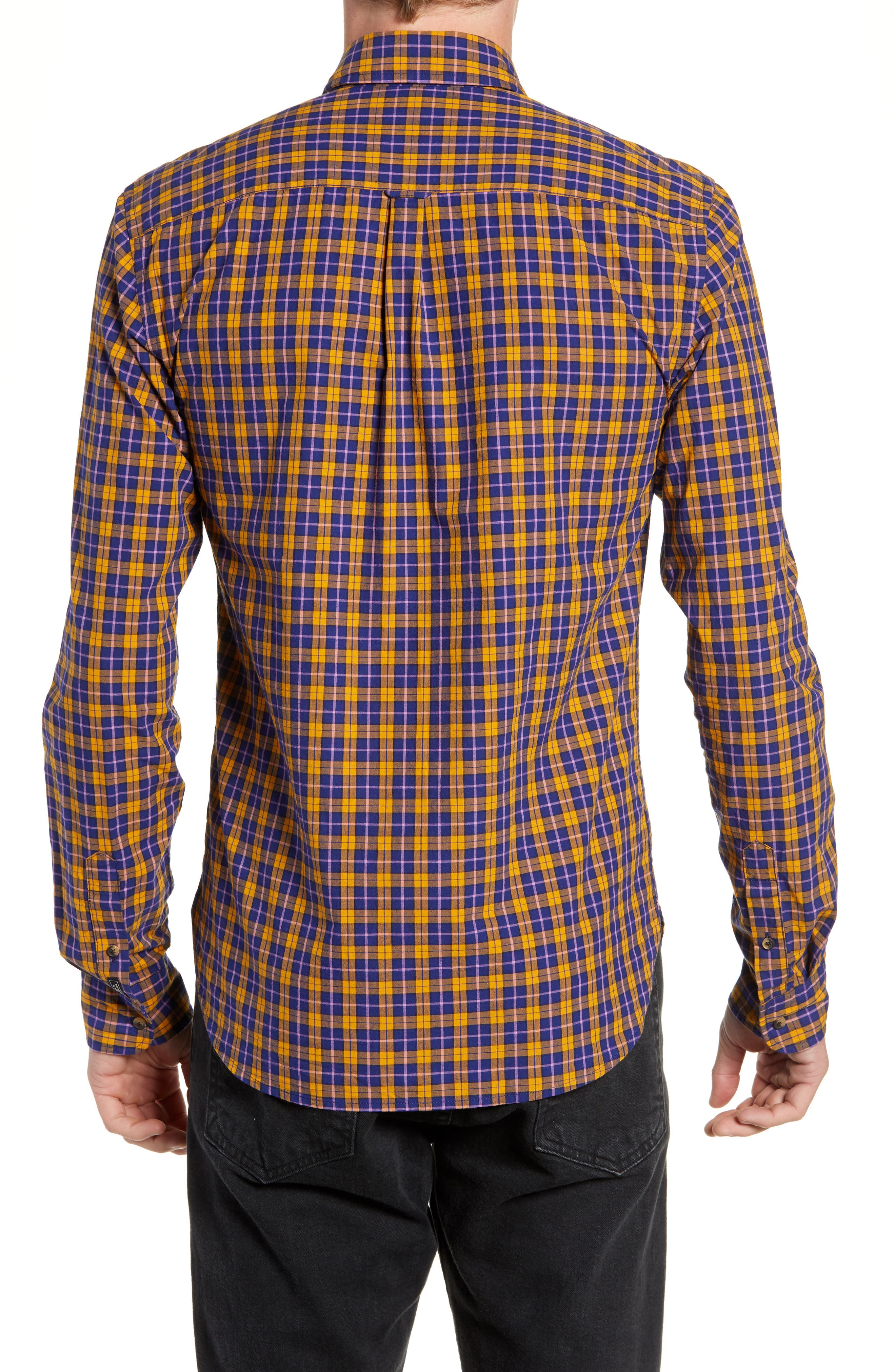 Check Sport Shirt,                             Alternate thumbnail 3, color,                             COMBO A